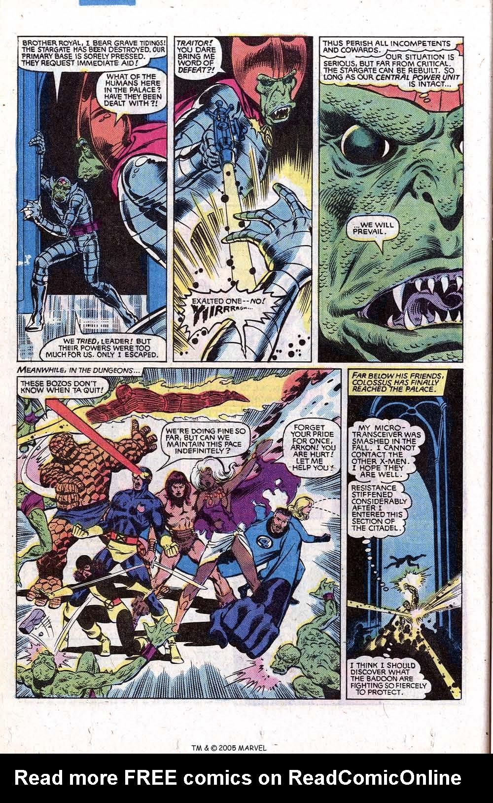 Read online Uncanny X-Men (1963) comic -  Issue # _Annual 5 - 40