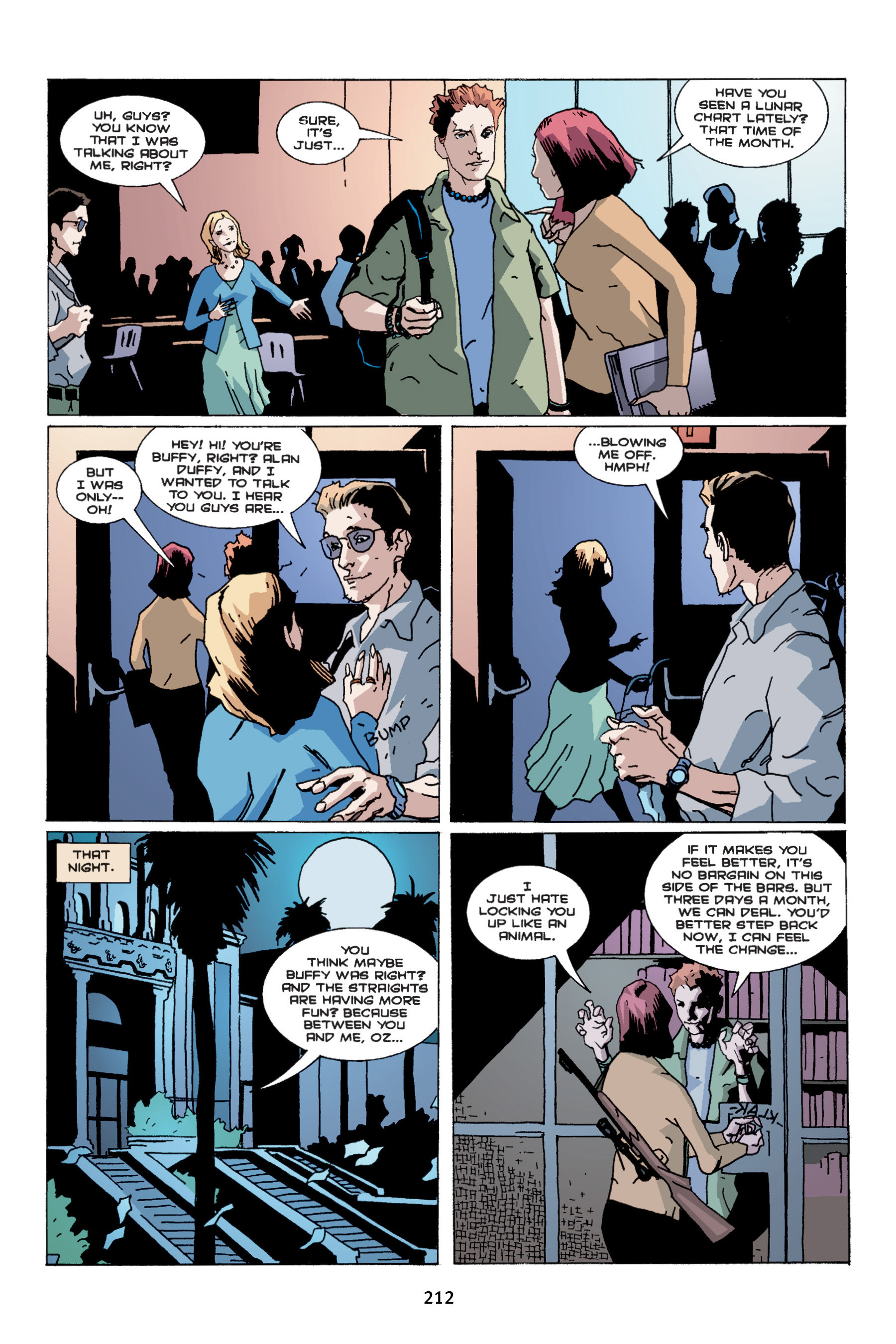Read online Buffy the Vampire Slayer: Omnibus comic -  Issue # TPB 4 - 210