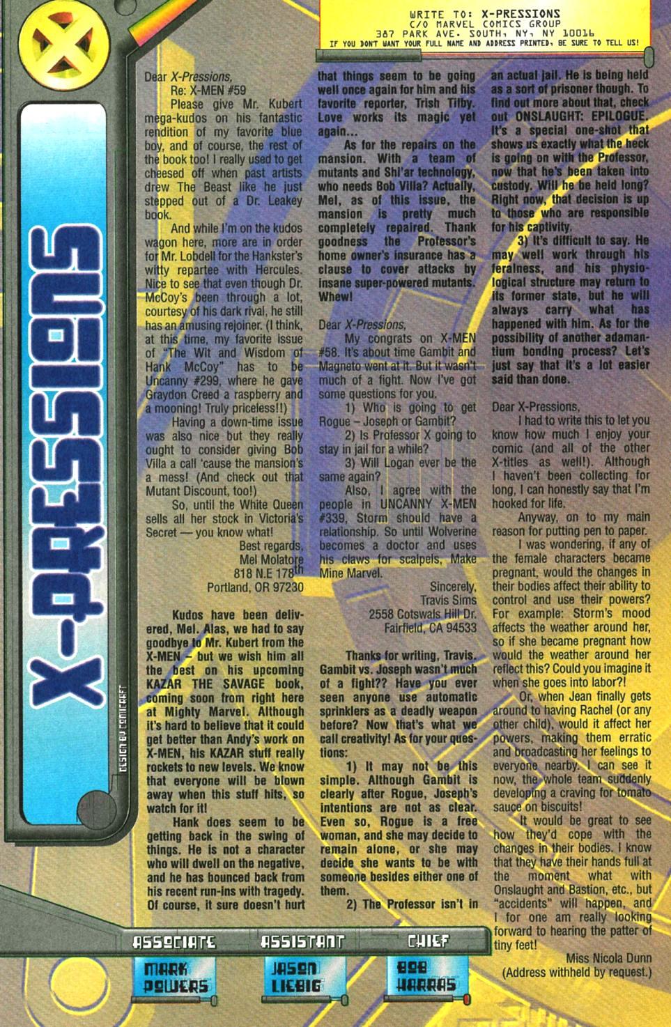 X-Men (1991) 61 Page 22