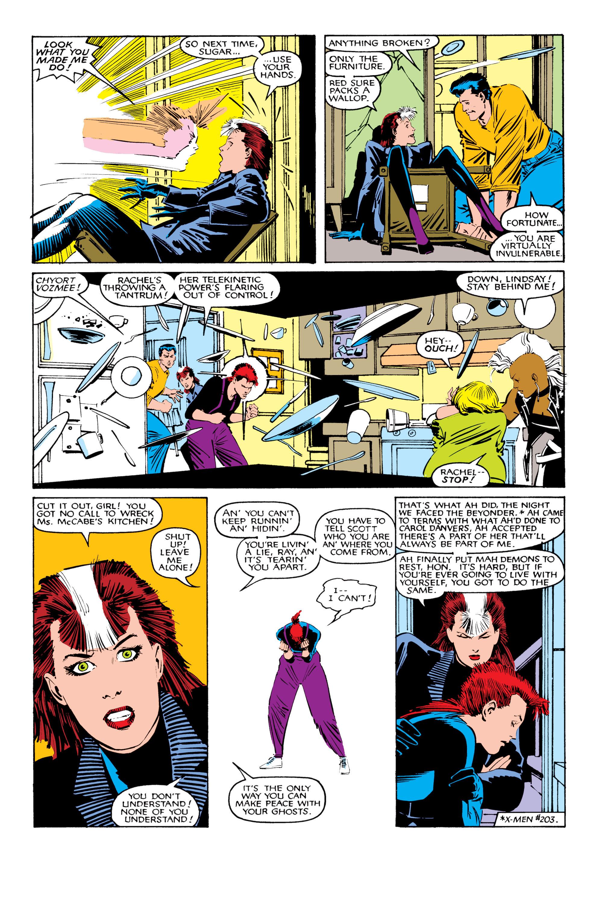 Read online Uncanny X-Men (1963) comic -  Issue #206 - 8