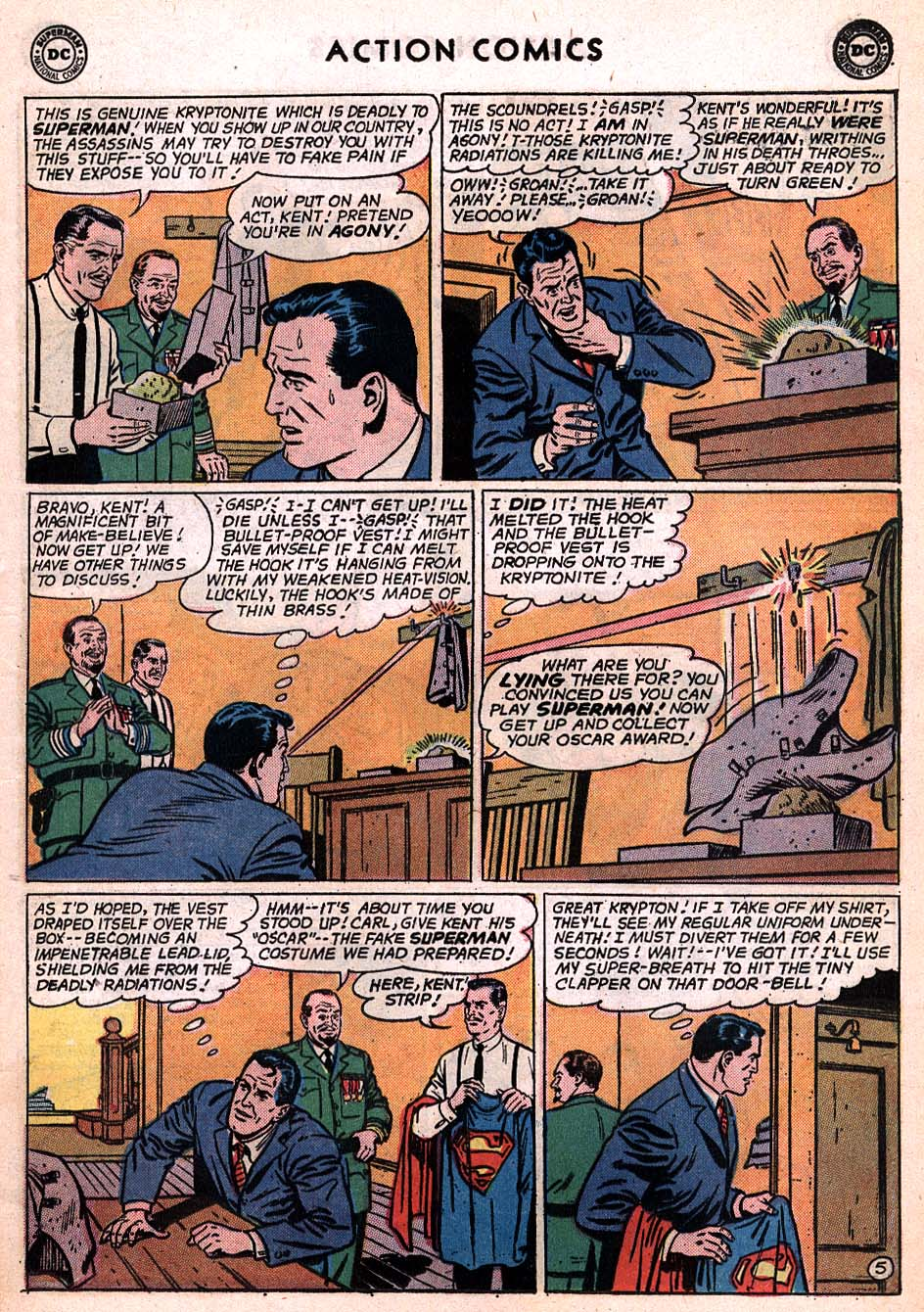 Read online Action Comics (1938) comic -  Issue #306 - 6