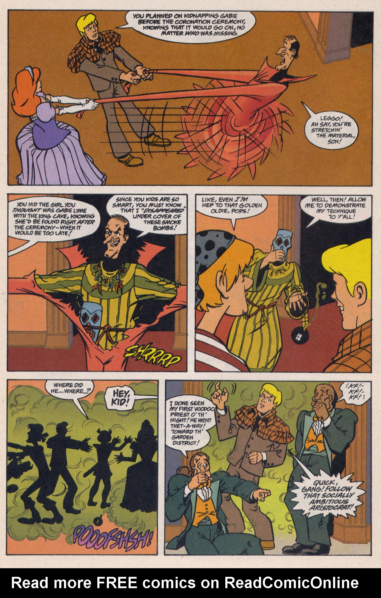 Read online Scooby-Doo (1997) comic -  Issue #9 - 14