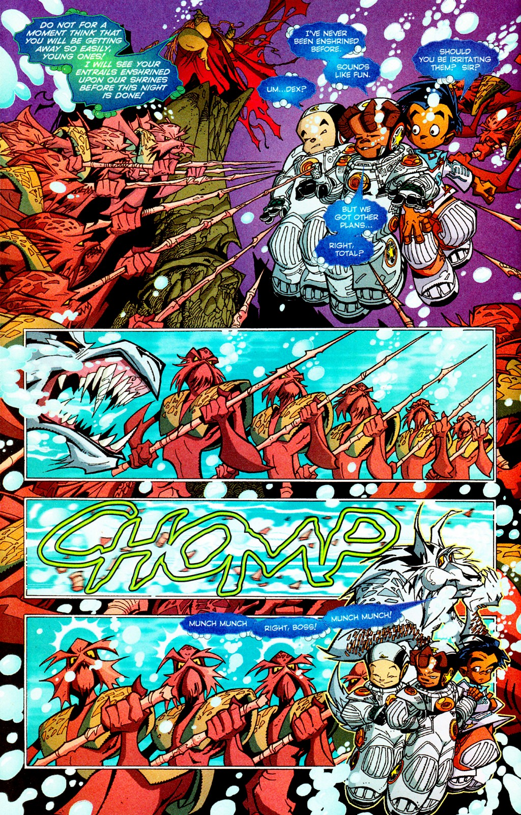 Read online Monster World (Existed) comic -  Issue #3 - 14