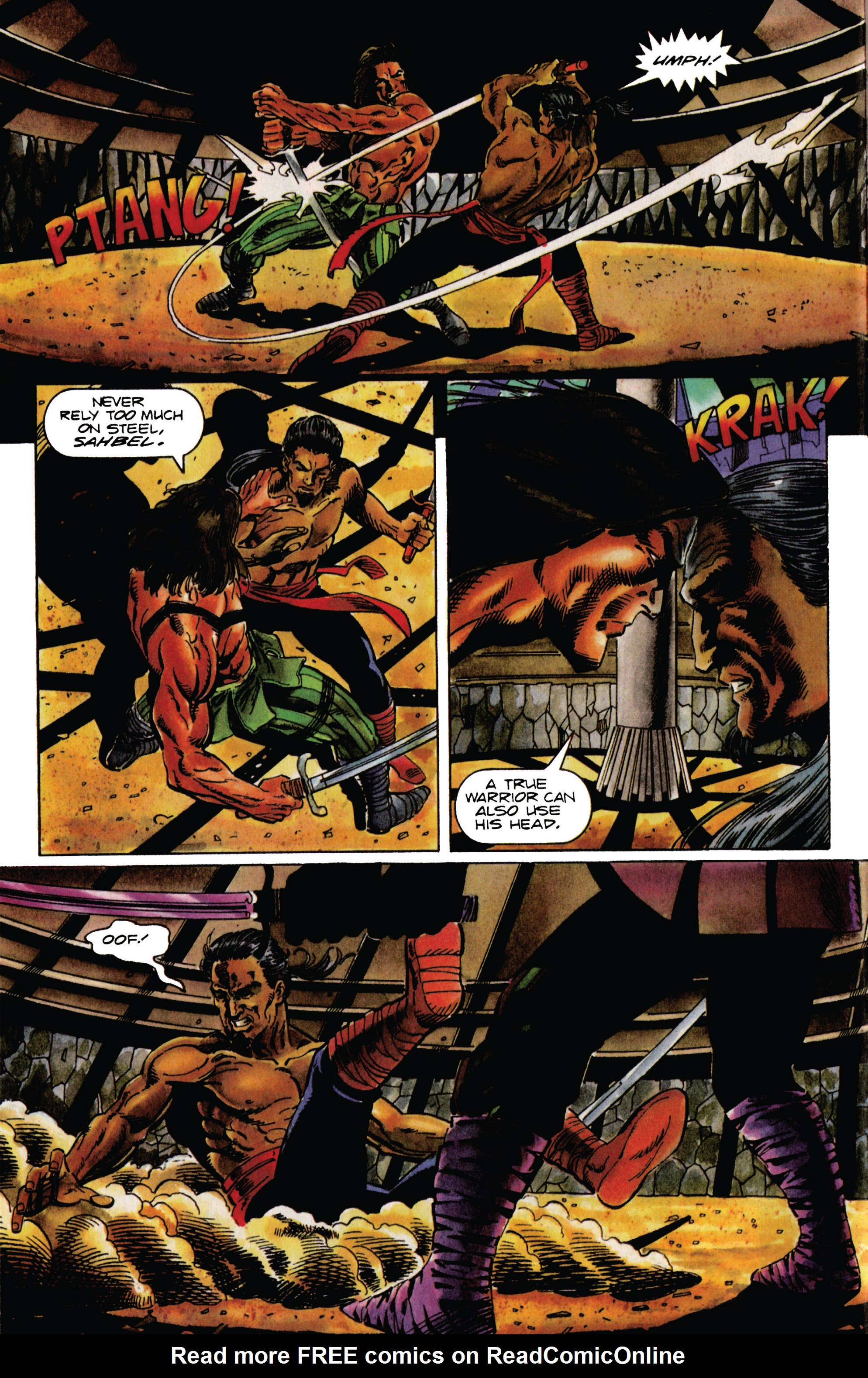 Read online Eternal Warrior (1992) comic -  Issue #28 - 3