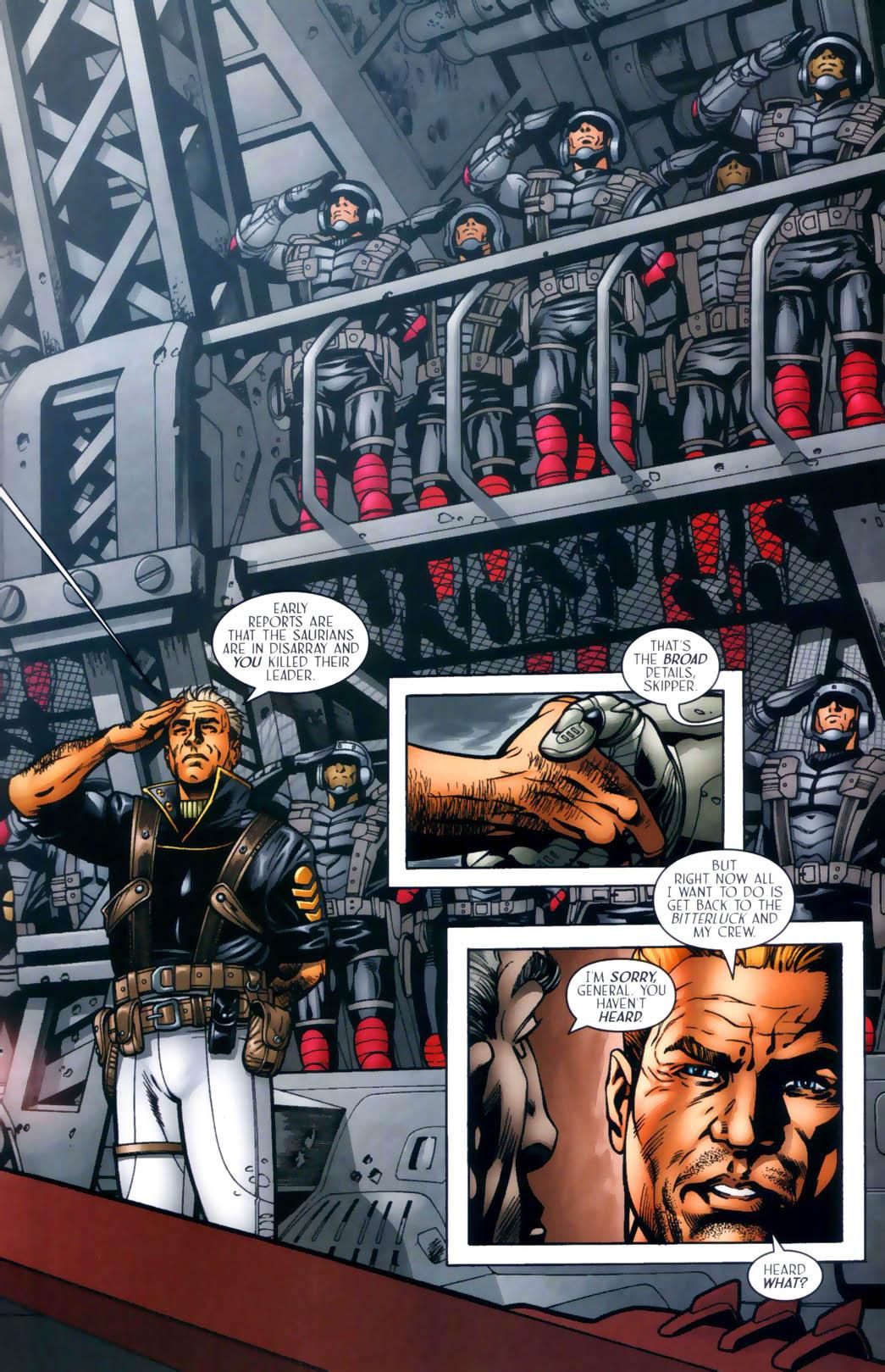 Read online Sigil (2000) comic -  Issue #30 - 22