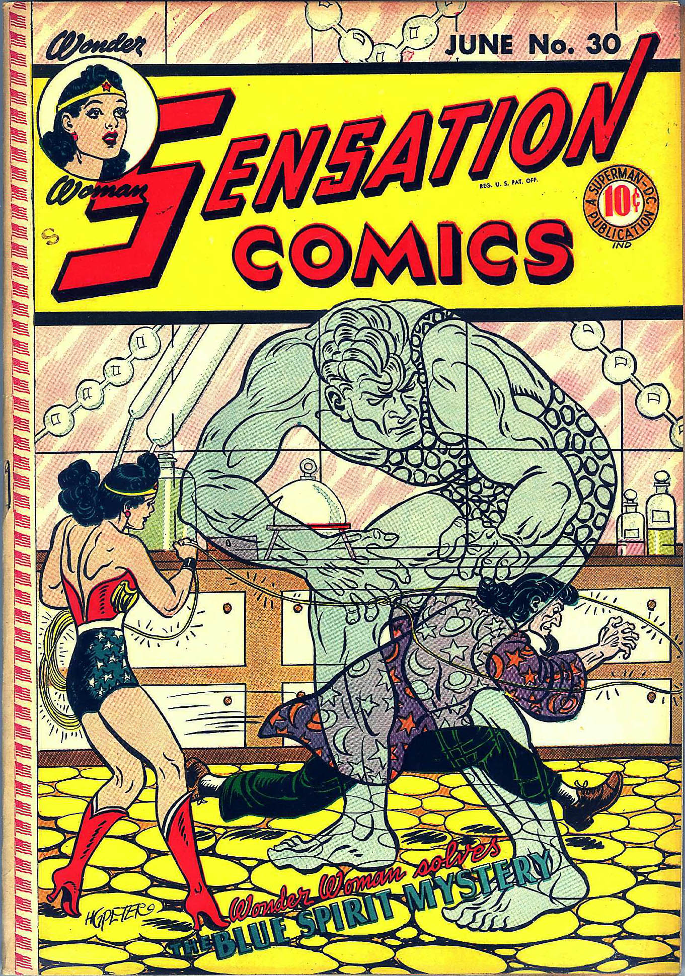 Read online Sensation (Mystery) Comics comic -  Issue #30 - 2