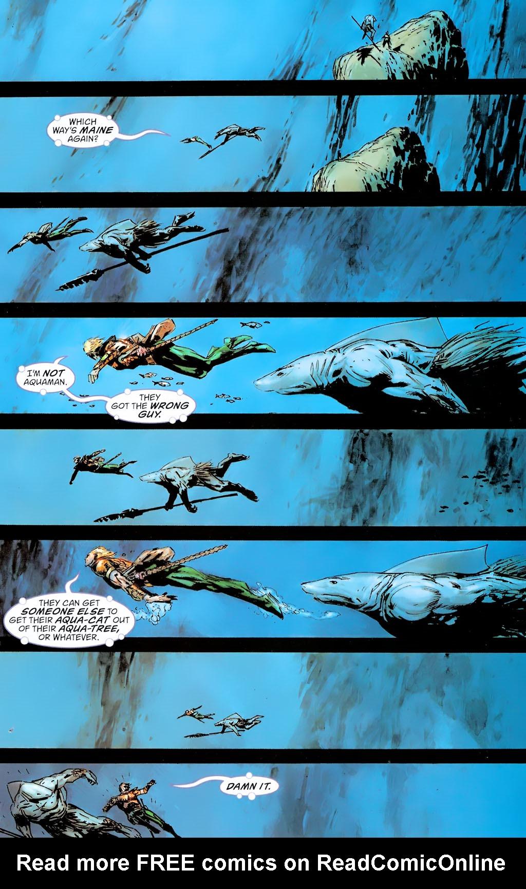 Read online Aquaman: Sword of Atlantis comic -  Issue #42 - 15