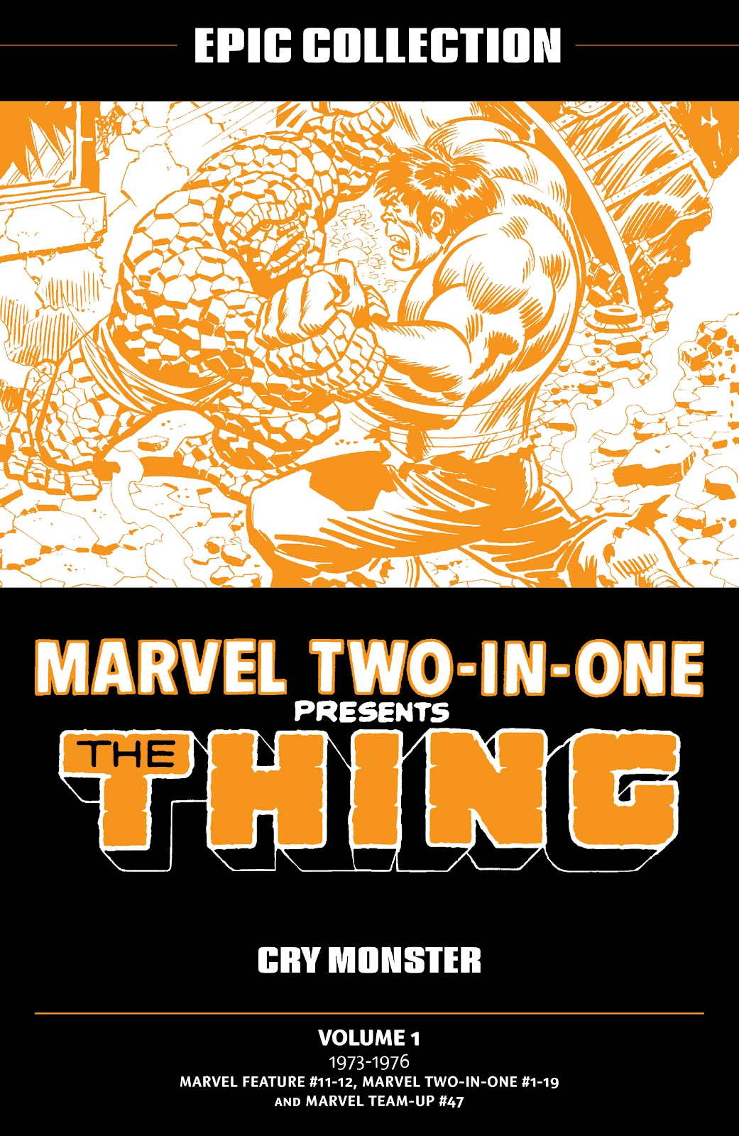Read online Marvel Two-In-One Epic Collection: Cry Monster comic -  Issue # TPB (Part 1) - 2