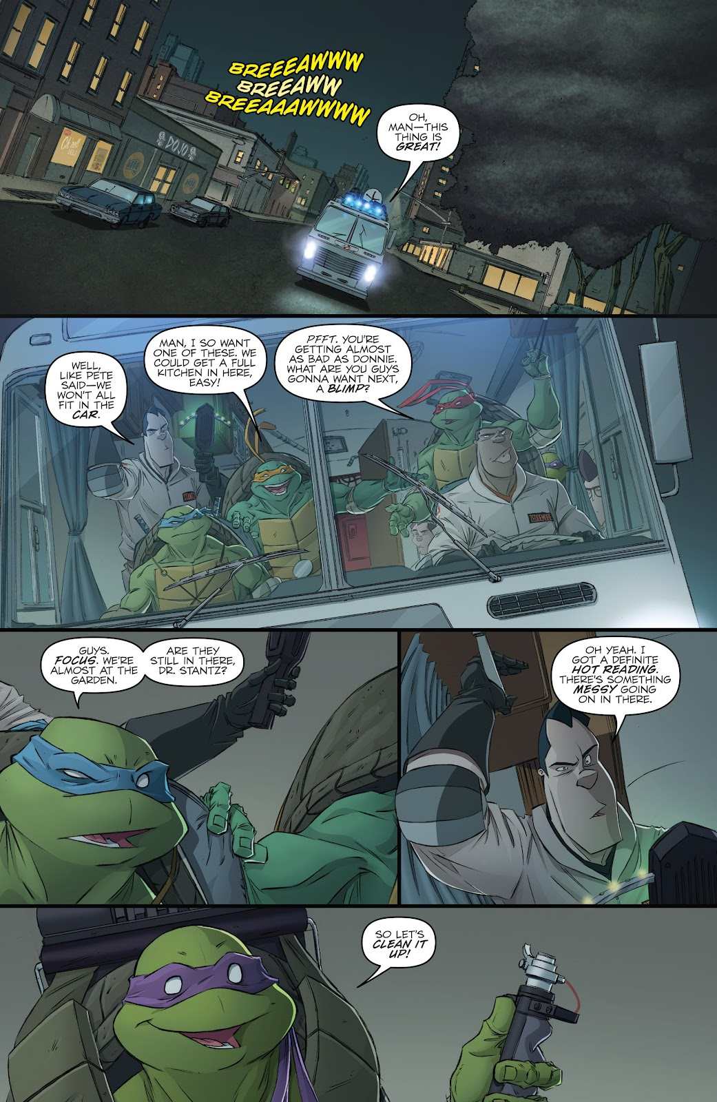 Read online Teenage Mutant Ninja Turtles: The IDW Collection comic -  Issue # TPB 5 (Part 3) - 18