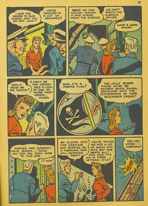 Read online Super-Magician Comics comic -  Issue #10 - 19