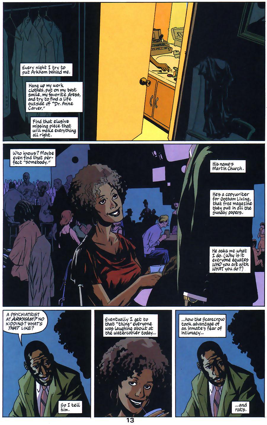 Read online Arkham Asylum: Living Hell comic -  Issue #1 - 15