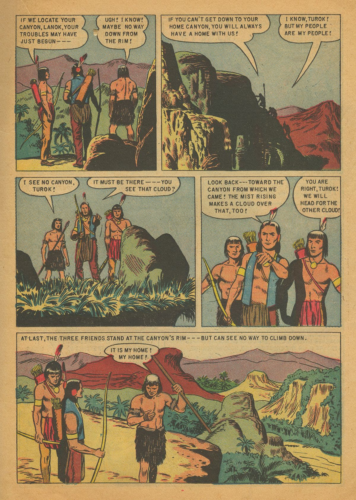 Read online Turok, Son of Stone comic -  Issue #4 - 15