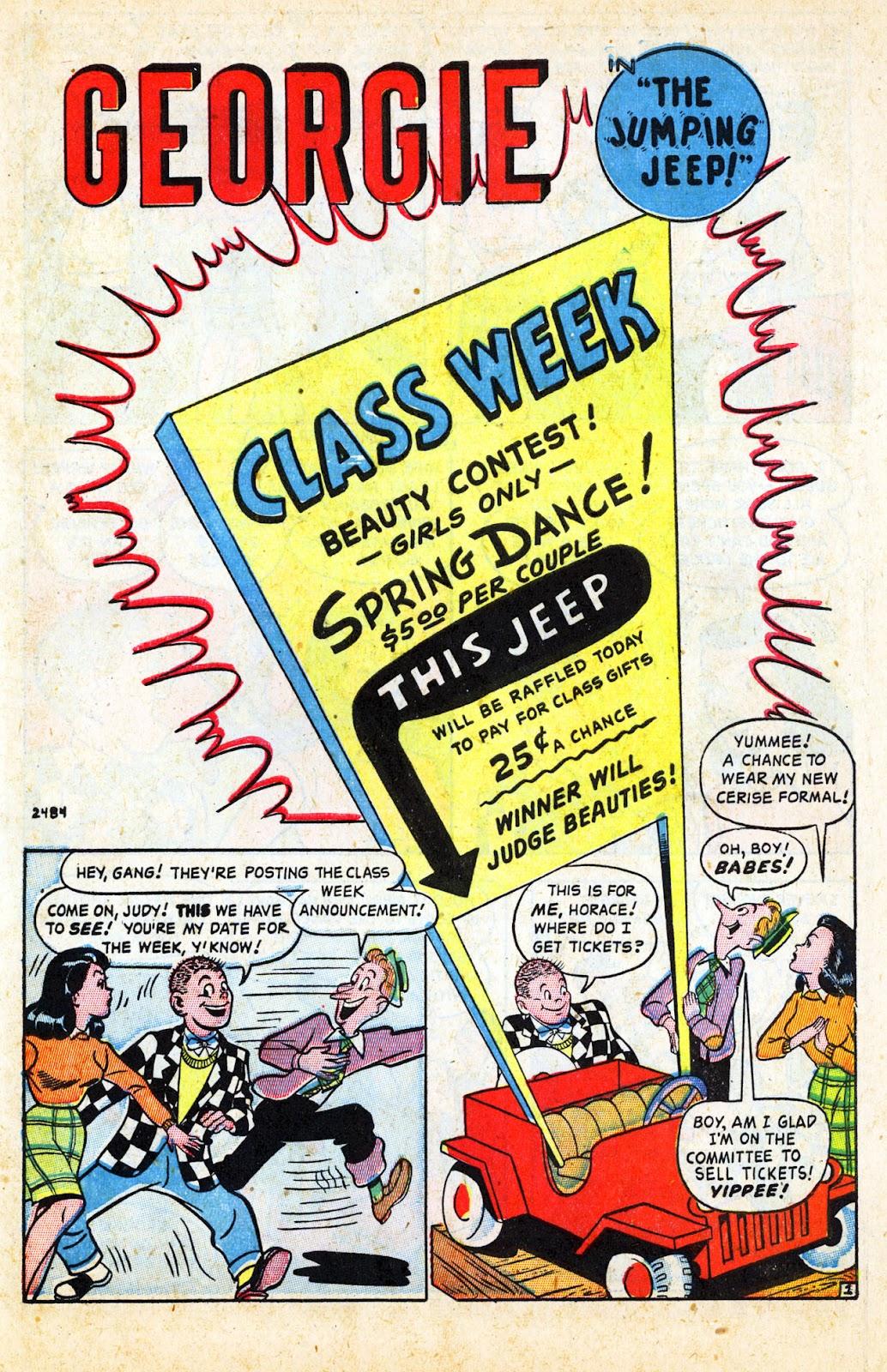 Georgie Comics (1945) issue 17 - Page 41