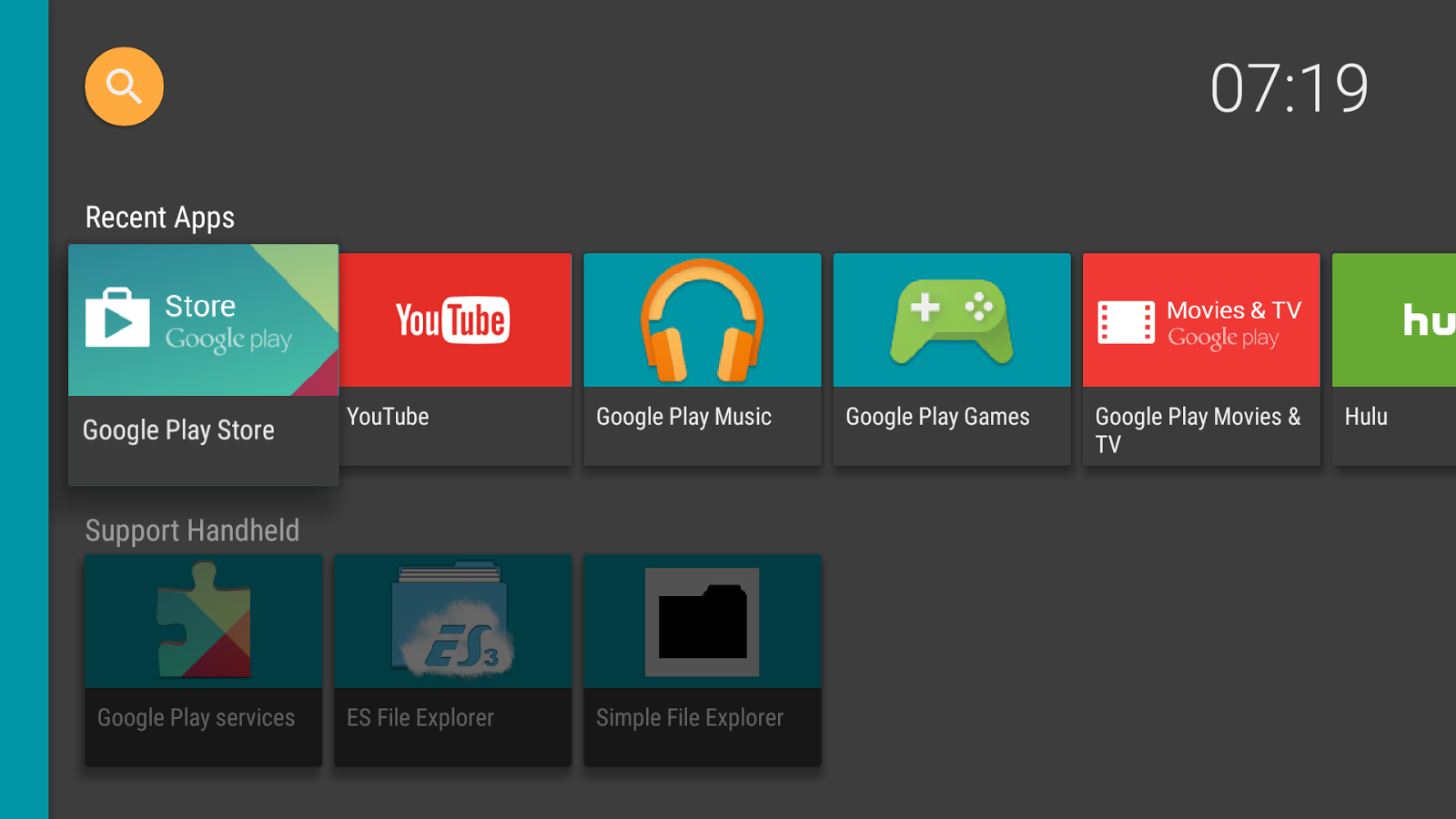 HALauncher - Android TV ~ Apps For Android TV