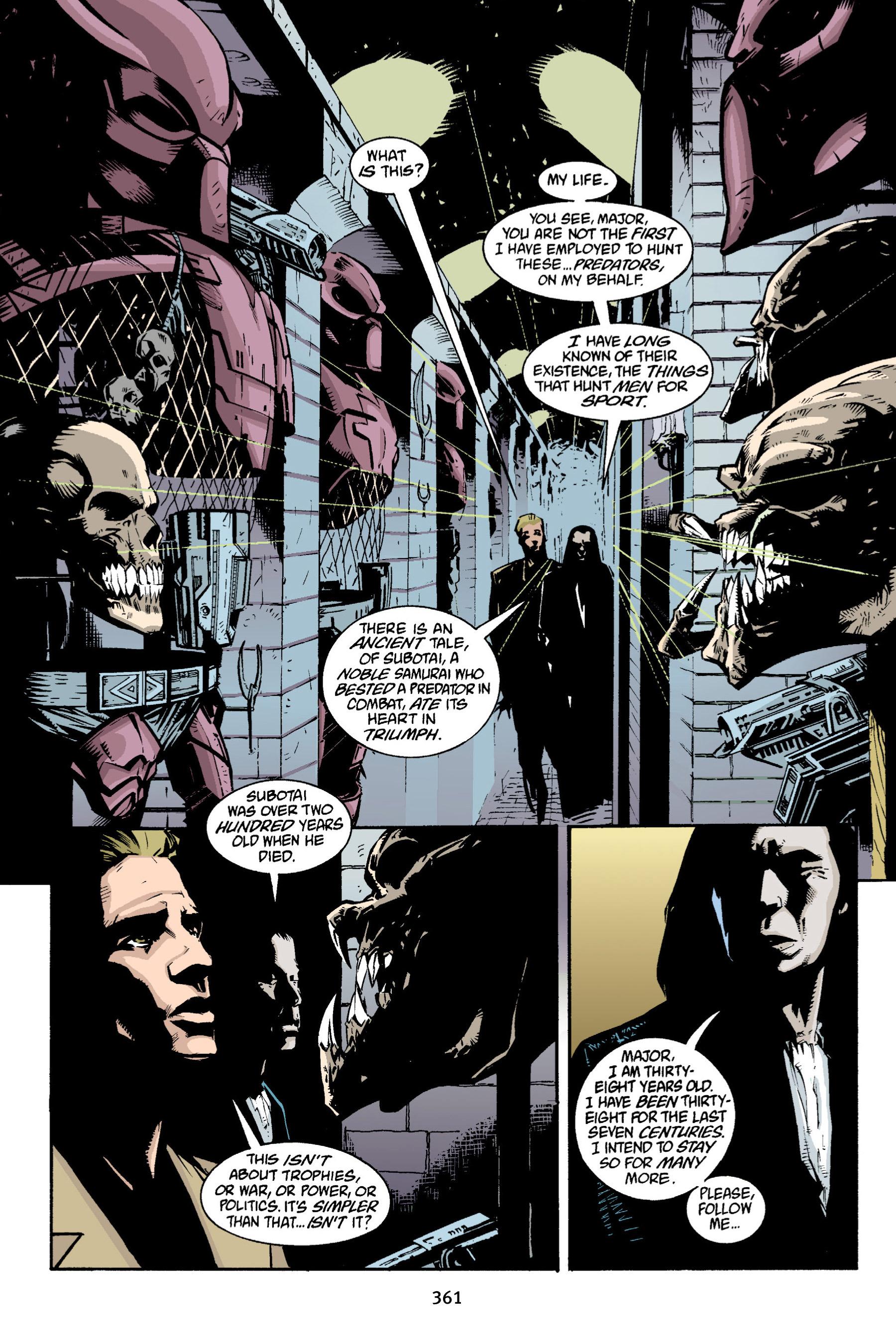 Read online Aliens vs. Predator Omnibus comic -  Issue # _TPB 1 Part 4 - 52