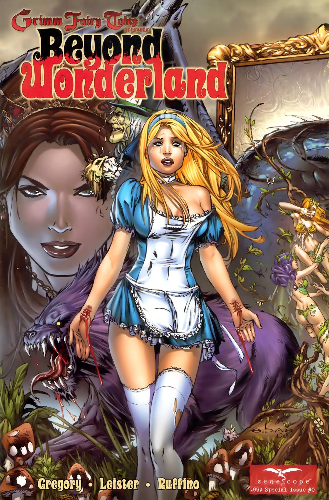 Grimm Fairy Tales: Beyond Wonderland issue 0 - Page 1