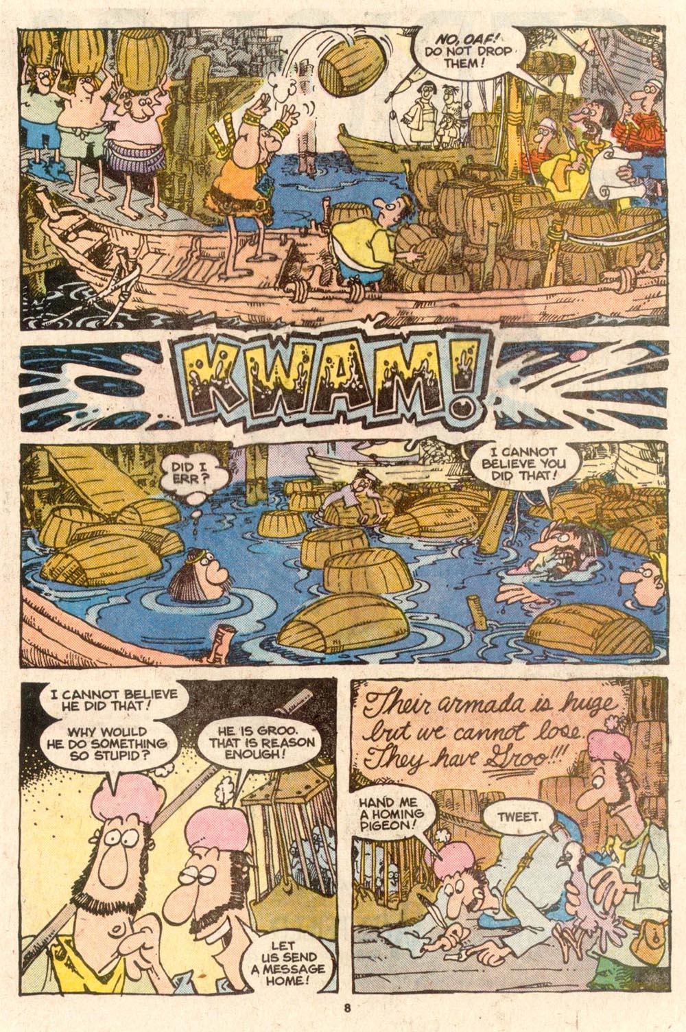 Read online Sergio Aragonés Groo the Wanderer comic -  Issue #54 - 8