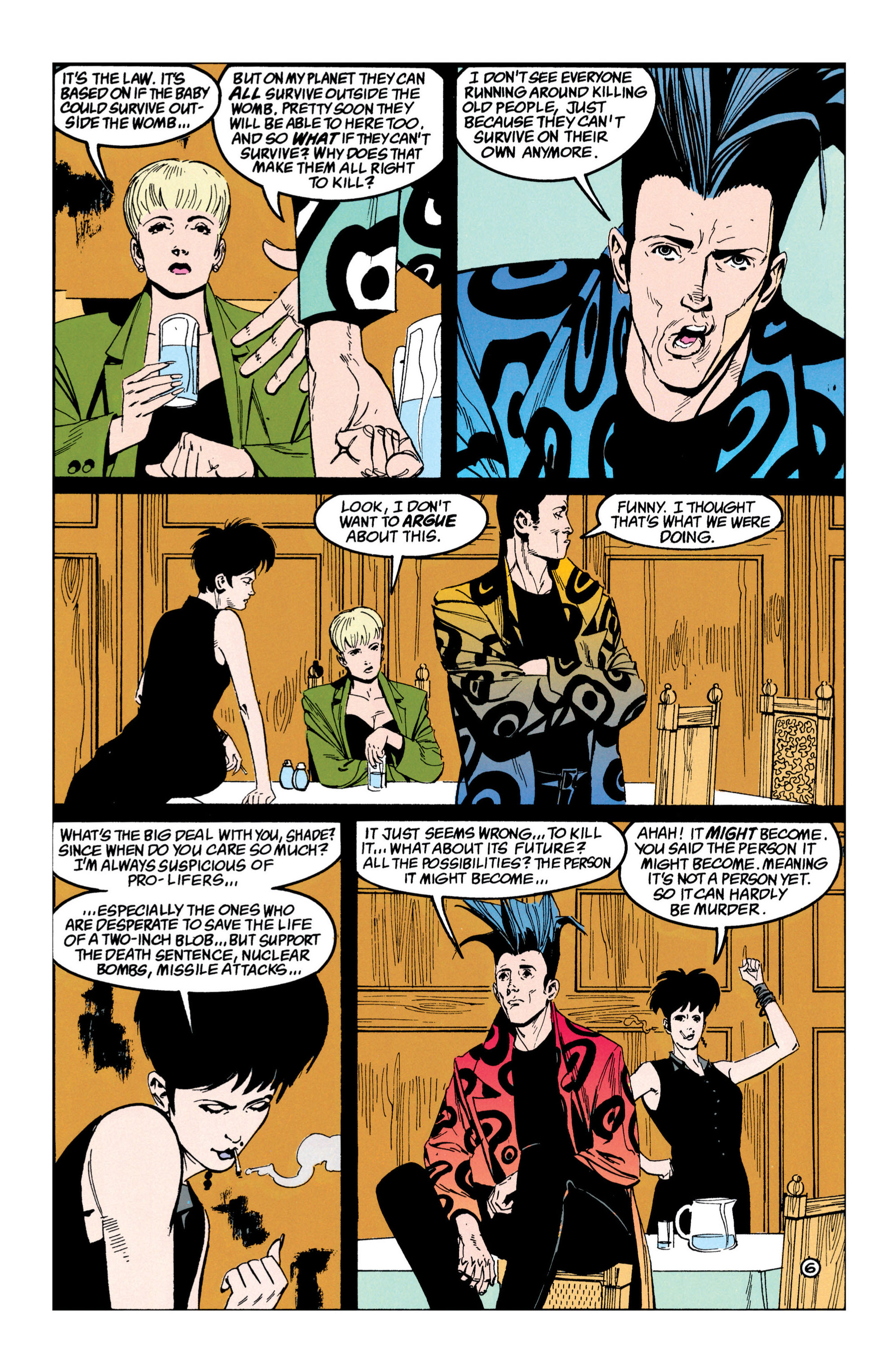 Read online Shade, the Changing Man comic -  Issue #42 - 7
