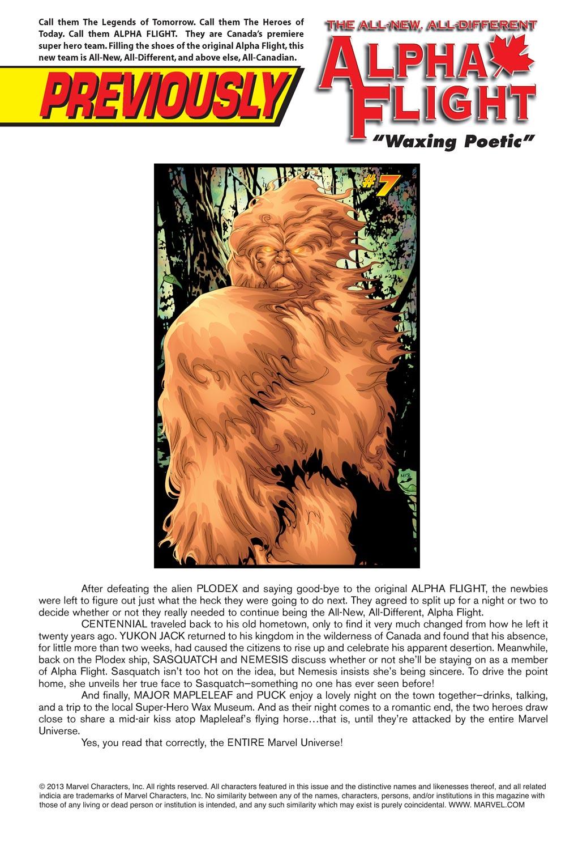 Alpha Flight (2004) issue 8 - Page 2