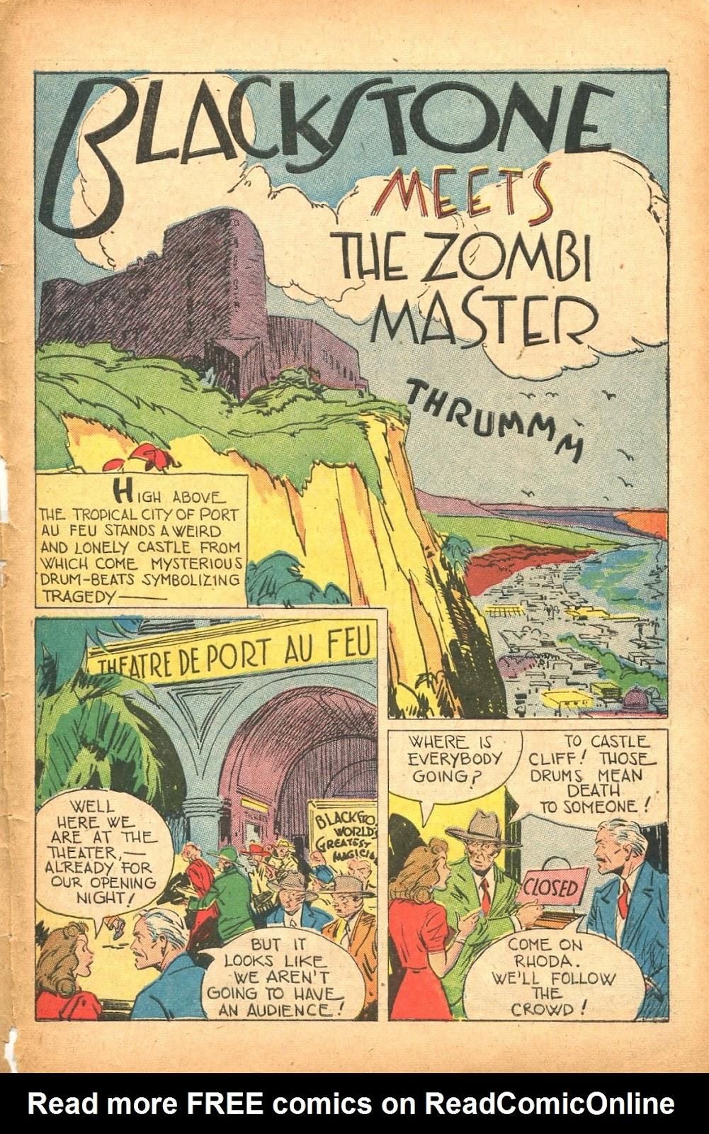 Read online Super-Magician Comics comic -  Issue #35 - 43