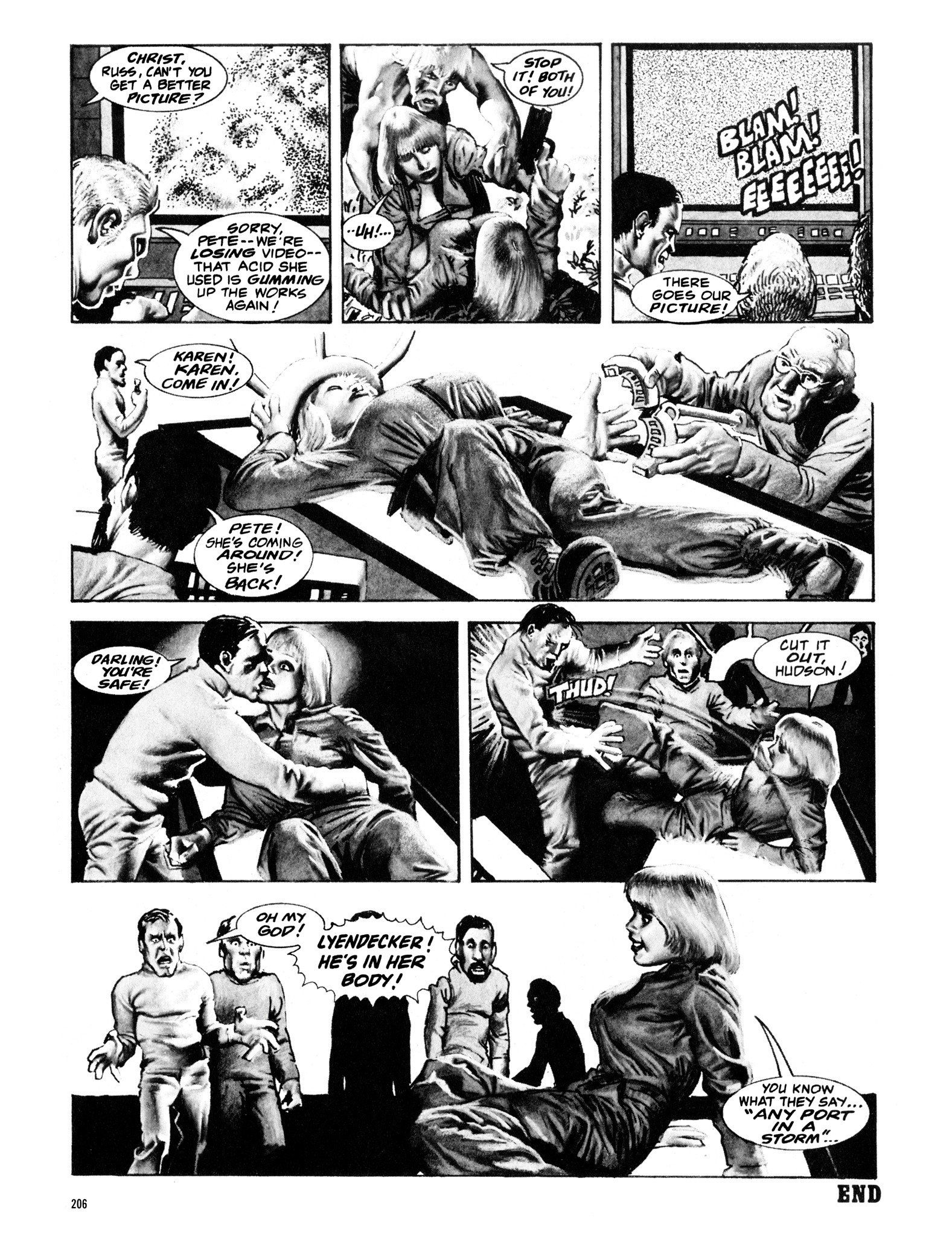 Read online Eerie Archives comic -  Issue # TPB 16 - 207