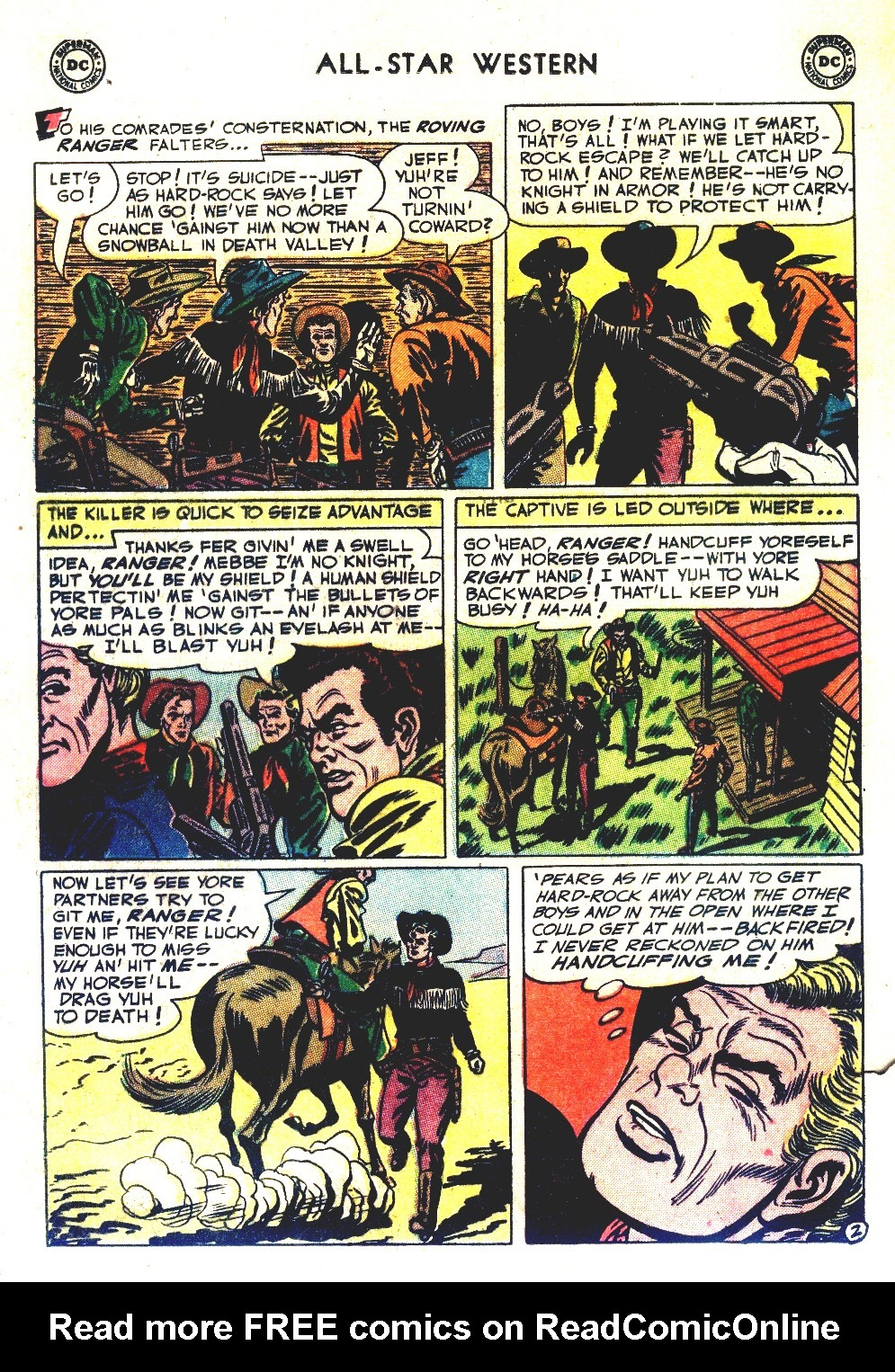 Read online All-Star Western (1951) comic -  Issue #66 - 20