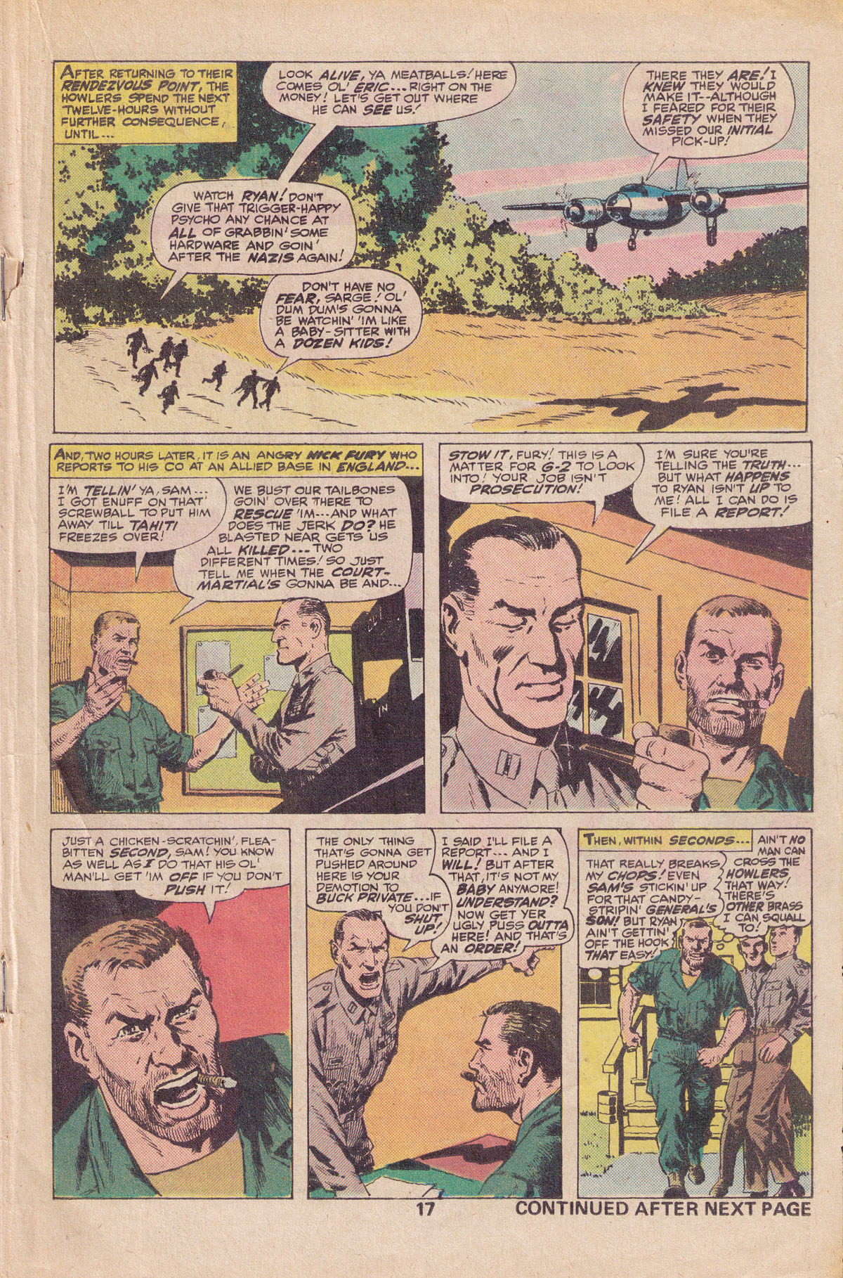 Read online Sgt. Fury comic -  Issue #140 - 19