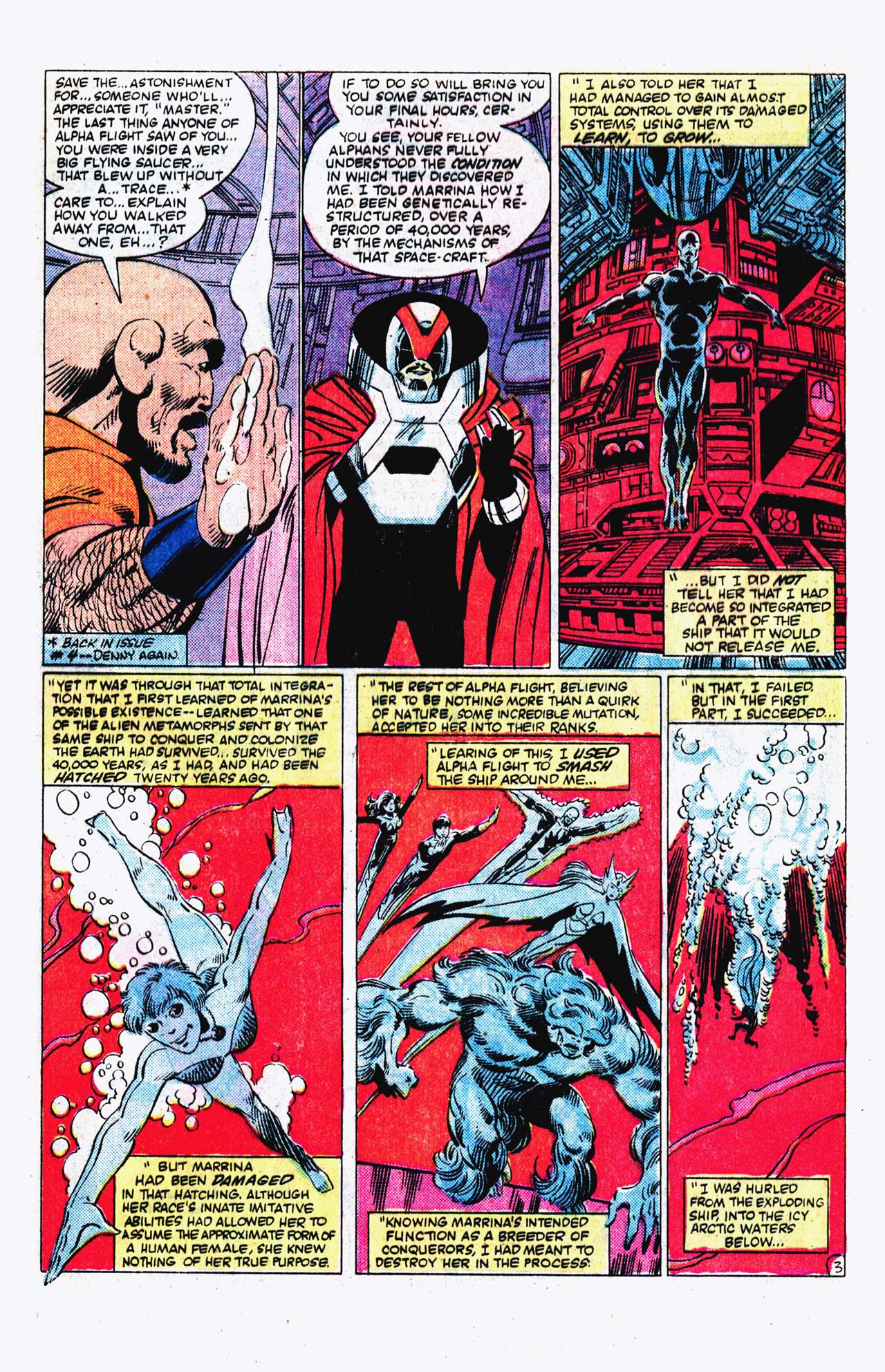 Read online Alpha Flight (1983) comic -  Issue #16 - 4