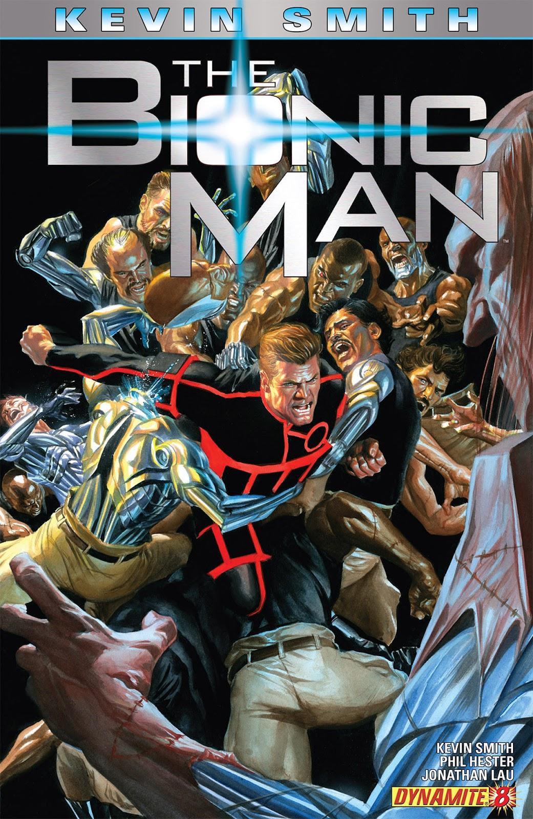 Bionic Man 8 Page 1