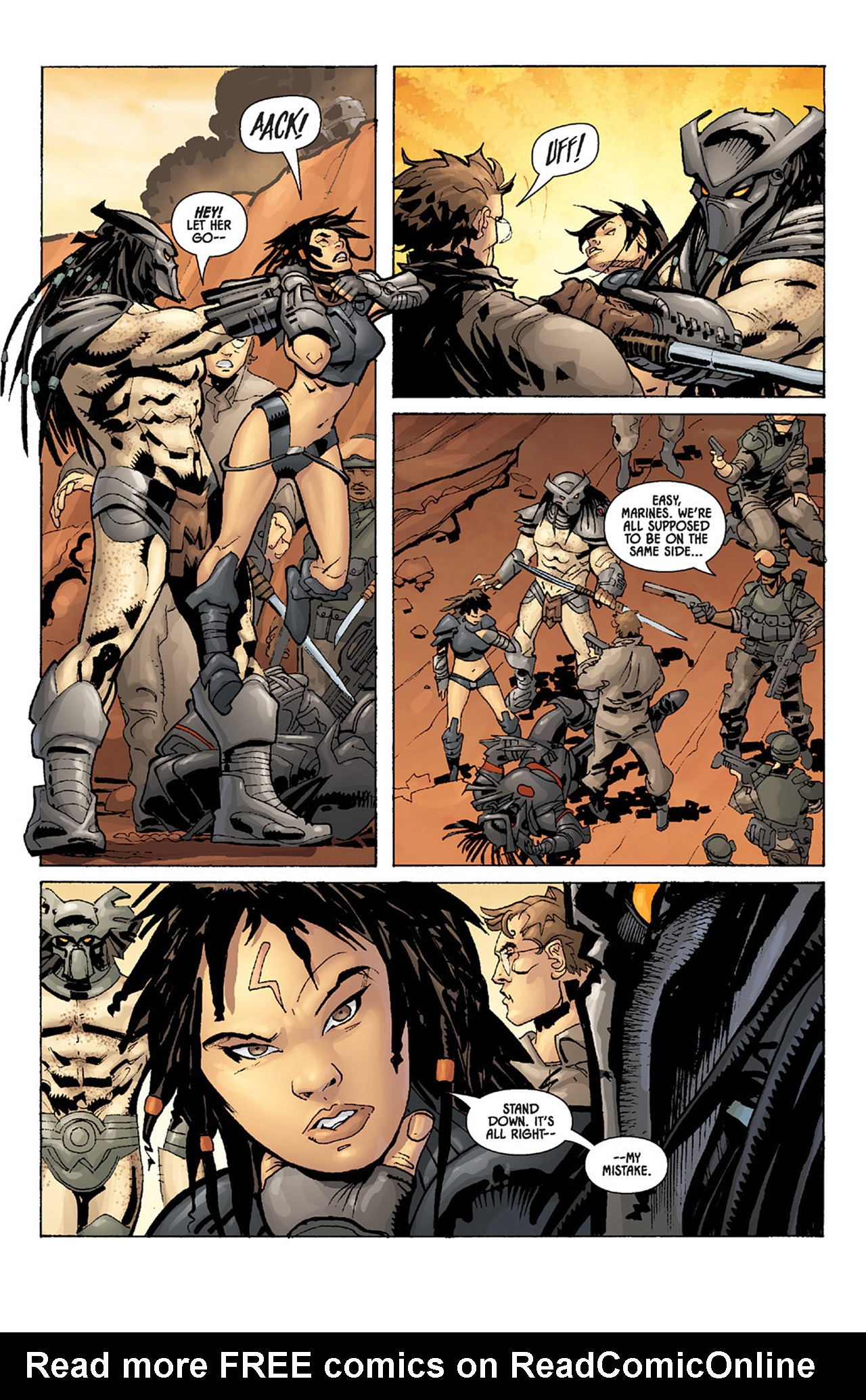 Read online Aliens vs. Predator: Three World War comic -  Issue #5 - 7