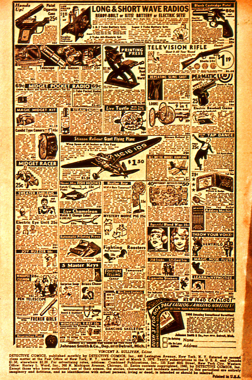 Read online Detective Comics (1937) comic -  Issue #37 - 3