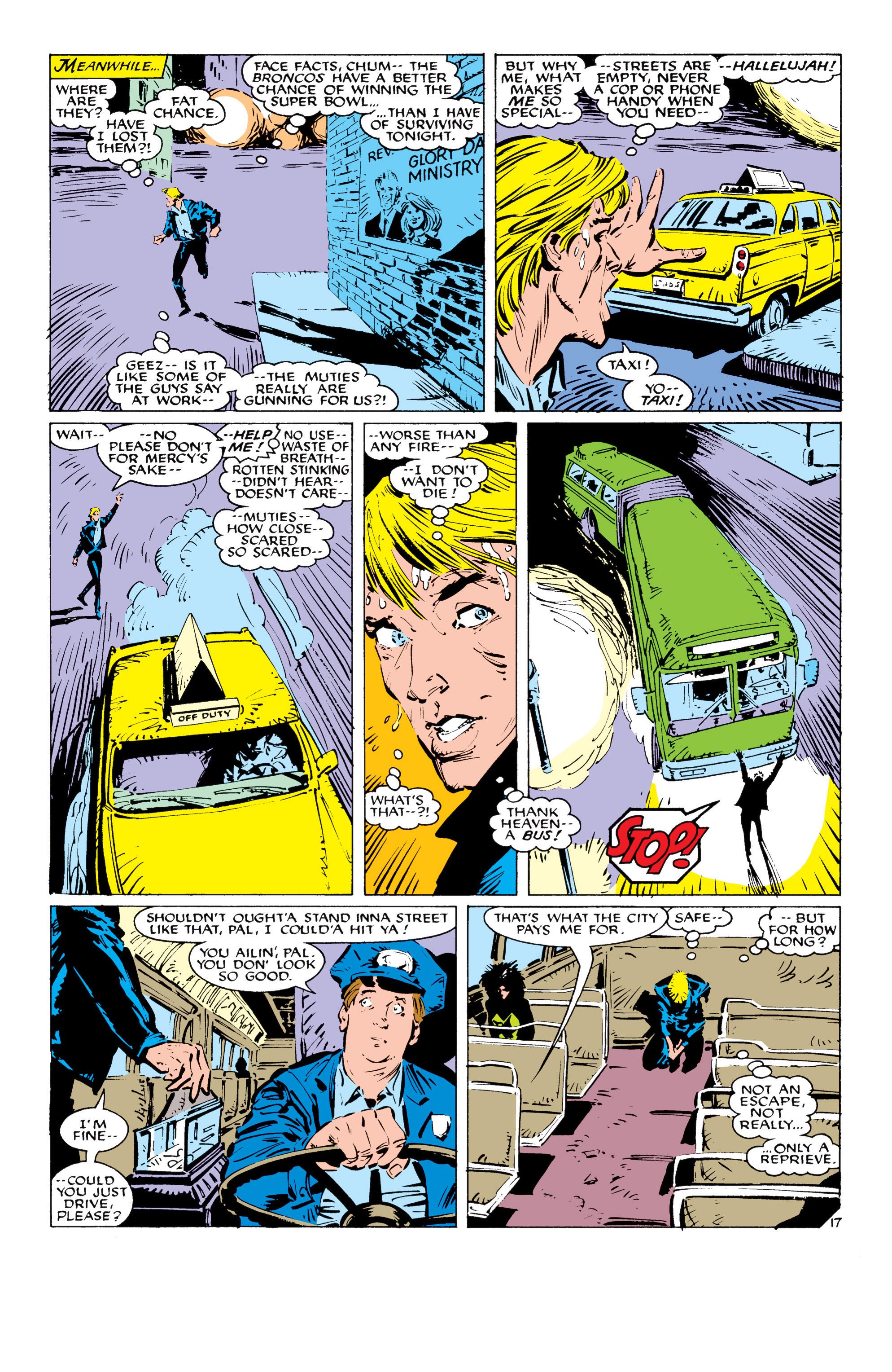 Read online Uncanny X-Men (1963) comic -  Issue #232 - 18