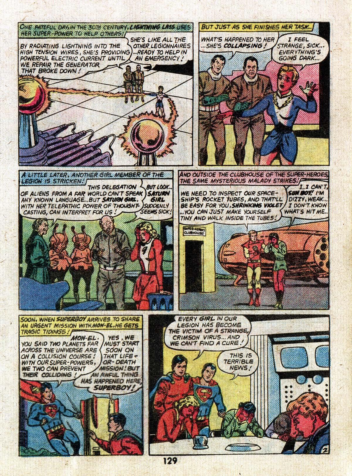 Read online Adventure Comics (1938) comic -  Issue #500 - 129
