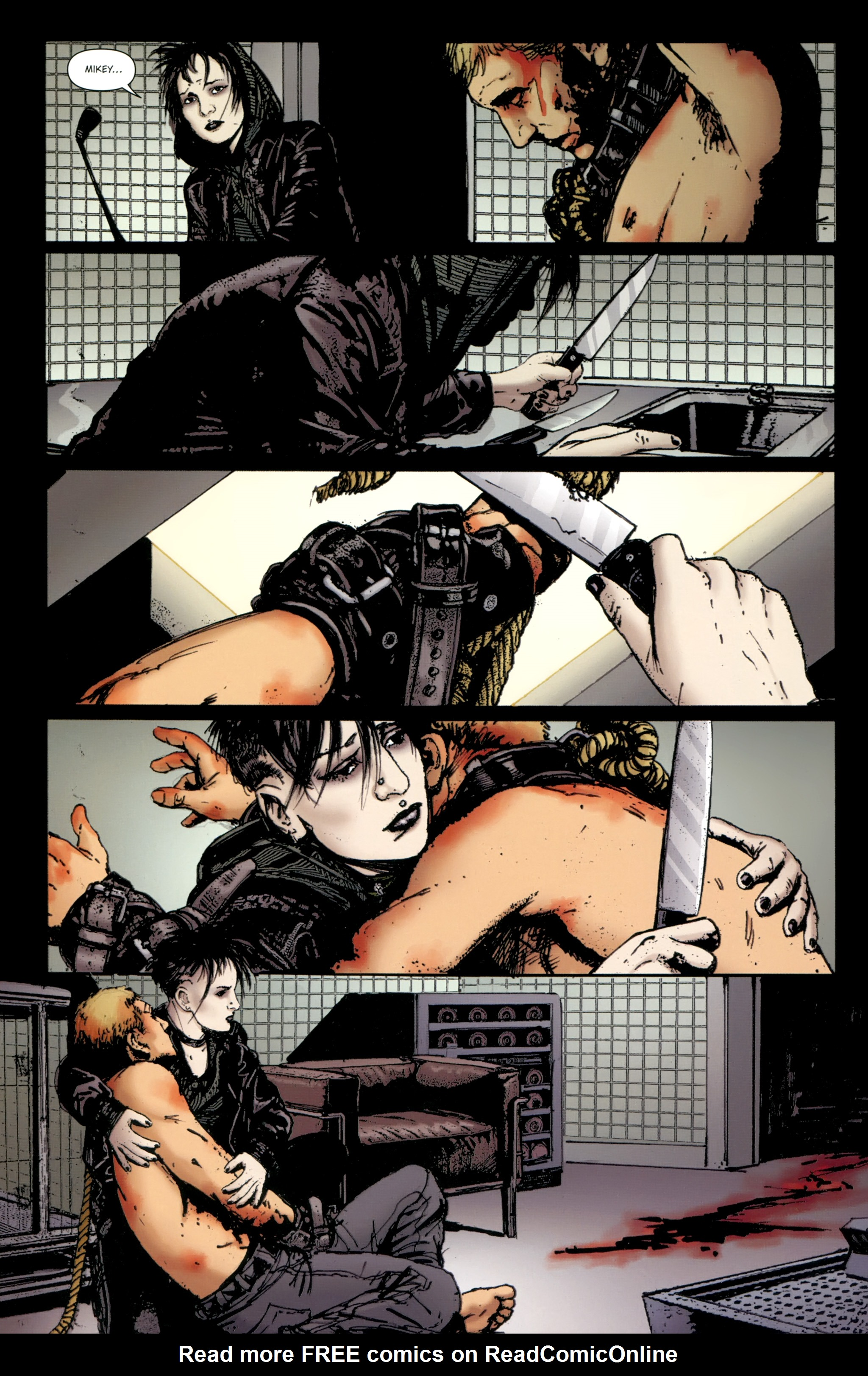 Read online The Girl With the Dragon Tattoo comic -  Issue # TPB 2 - 102