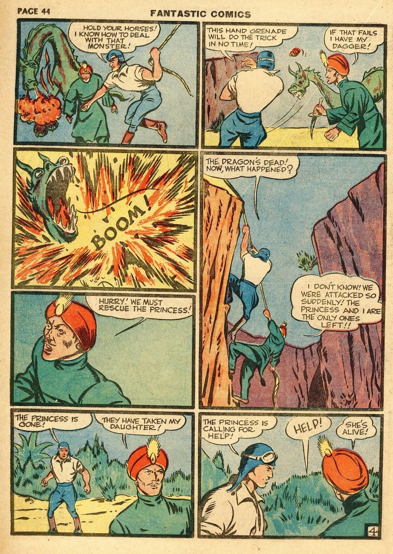 Read online Fantastic Comics comic -  Issue #10 - 45