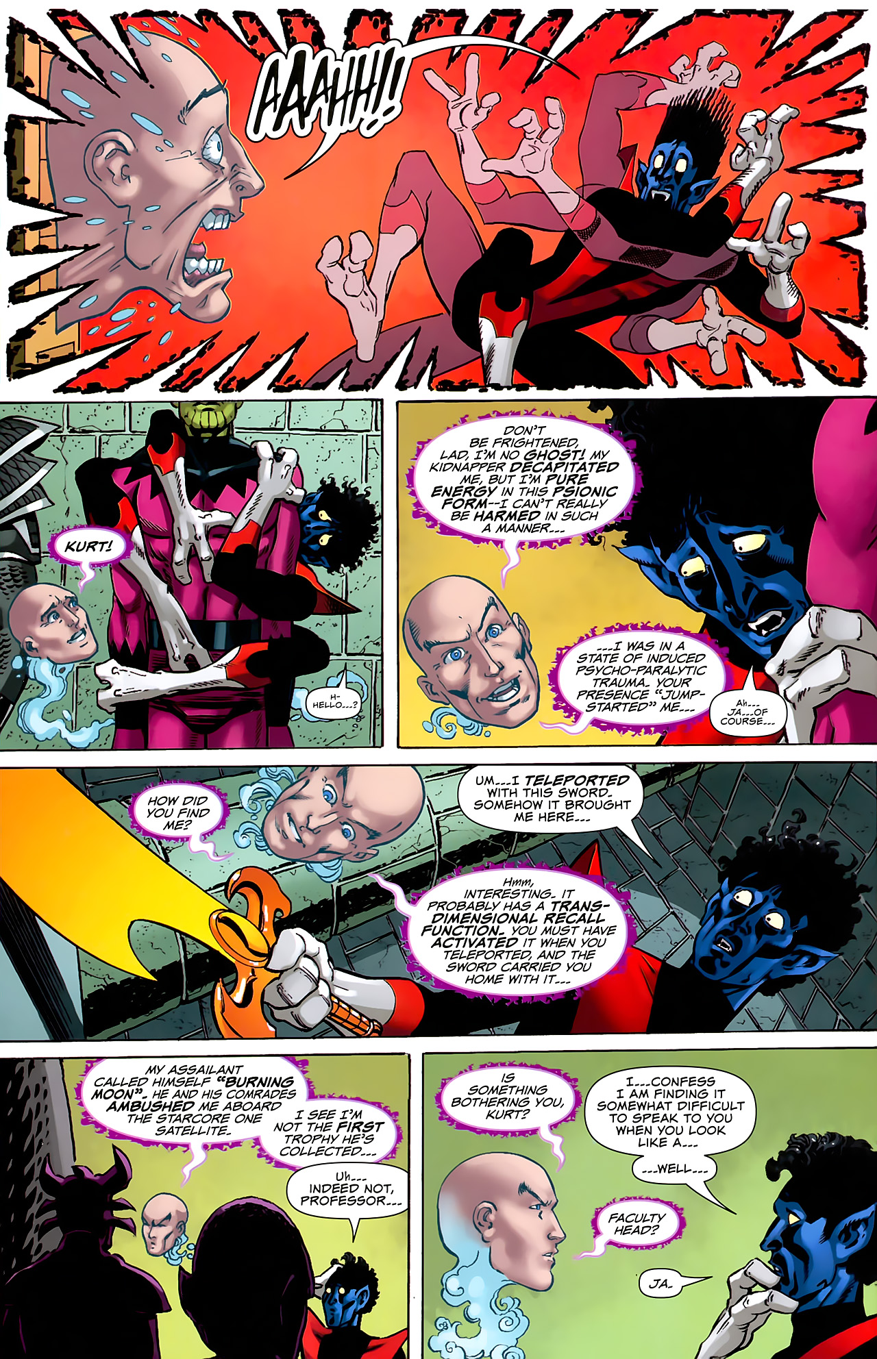 Read online Uncanny X-Men: First Class comic -  Issue #6 - 13