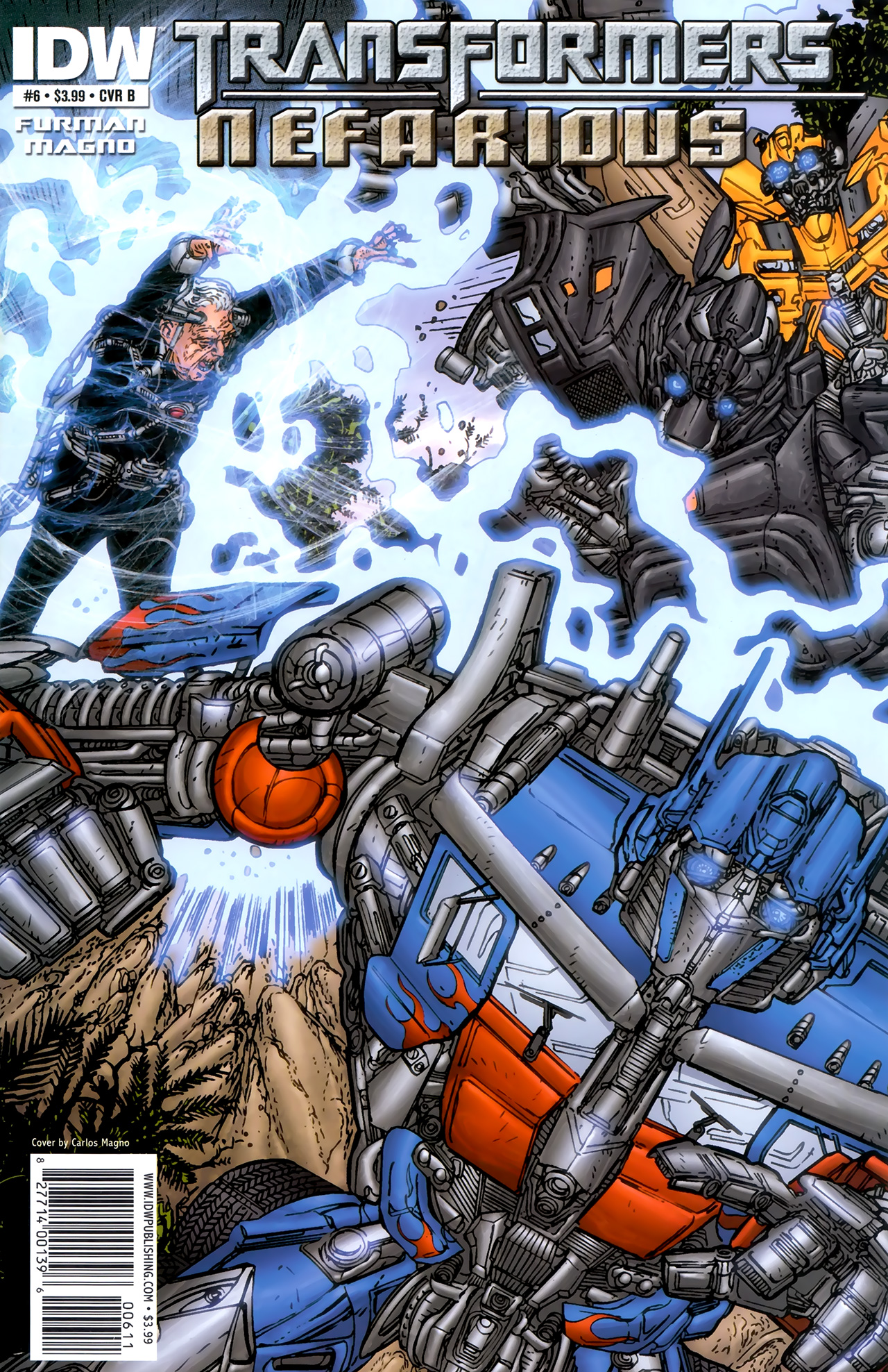 Read online Transformers: Nefarious comic -  Issue #6 - 2