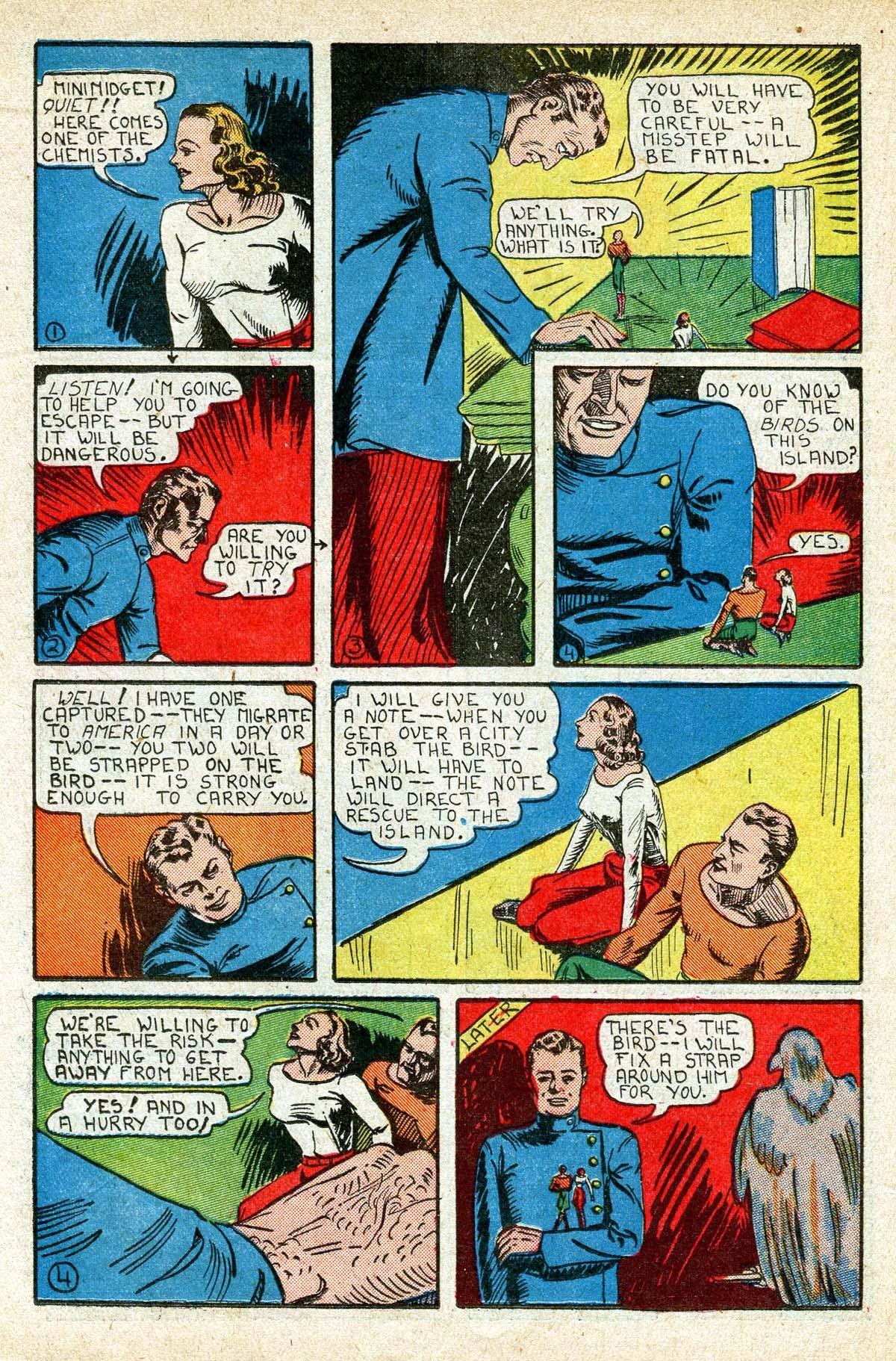 Read online Amazing Man Comics comic -  Issue #8 - 40