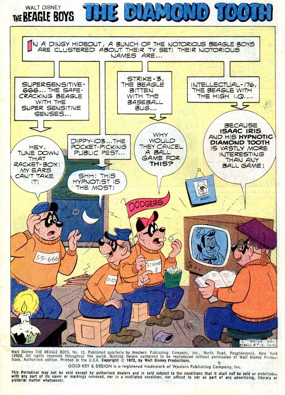 Walt Disney THE BEAGLE BOYS issue 15 - Page 3
