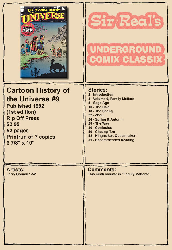 Read online The Cartoon History of the Universe comic -  Issue #9 - 1