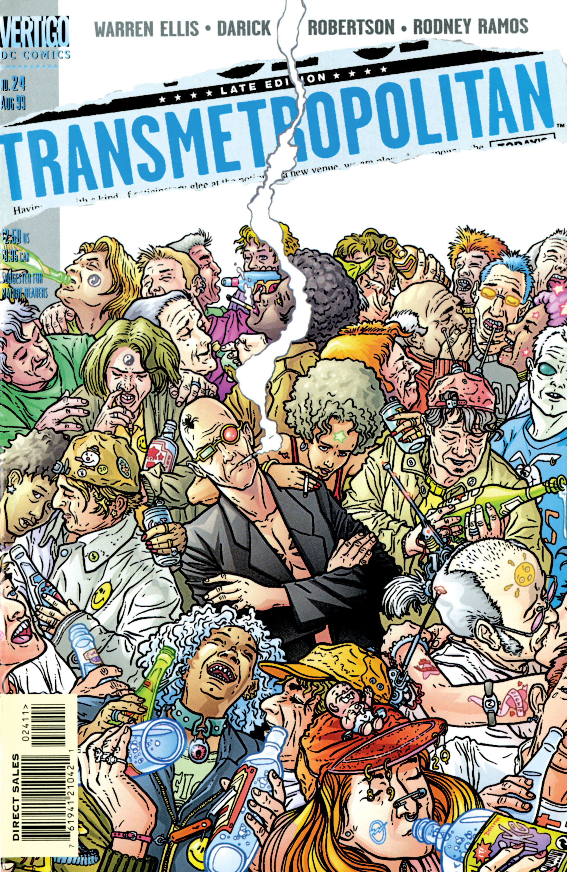 Read online Transmetropolitan comic -  Issue #24 - 1