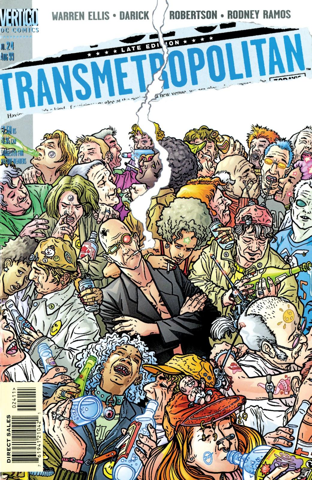 Transmetropolitan 24 Page 1