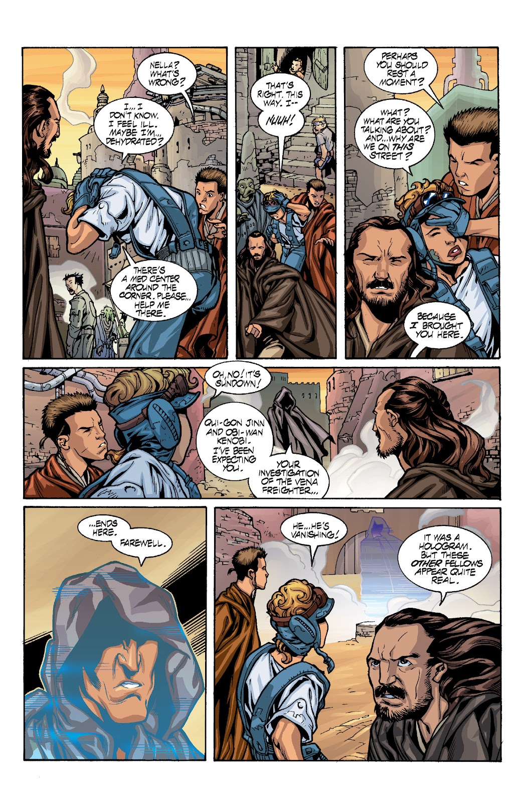 Read online Star Wars Legends: Rise of the Sith - Epic Collection comic -  Issue # TPB 1 (Part 4) - 11