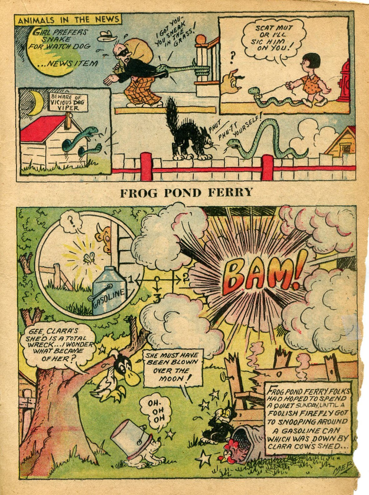 Read online Famous Funnies comic -  Issue #59 - 36