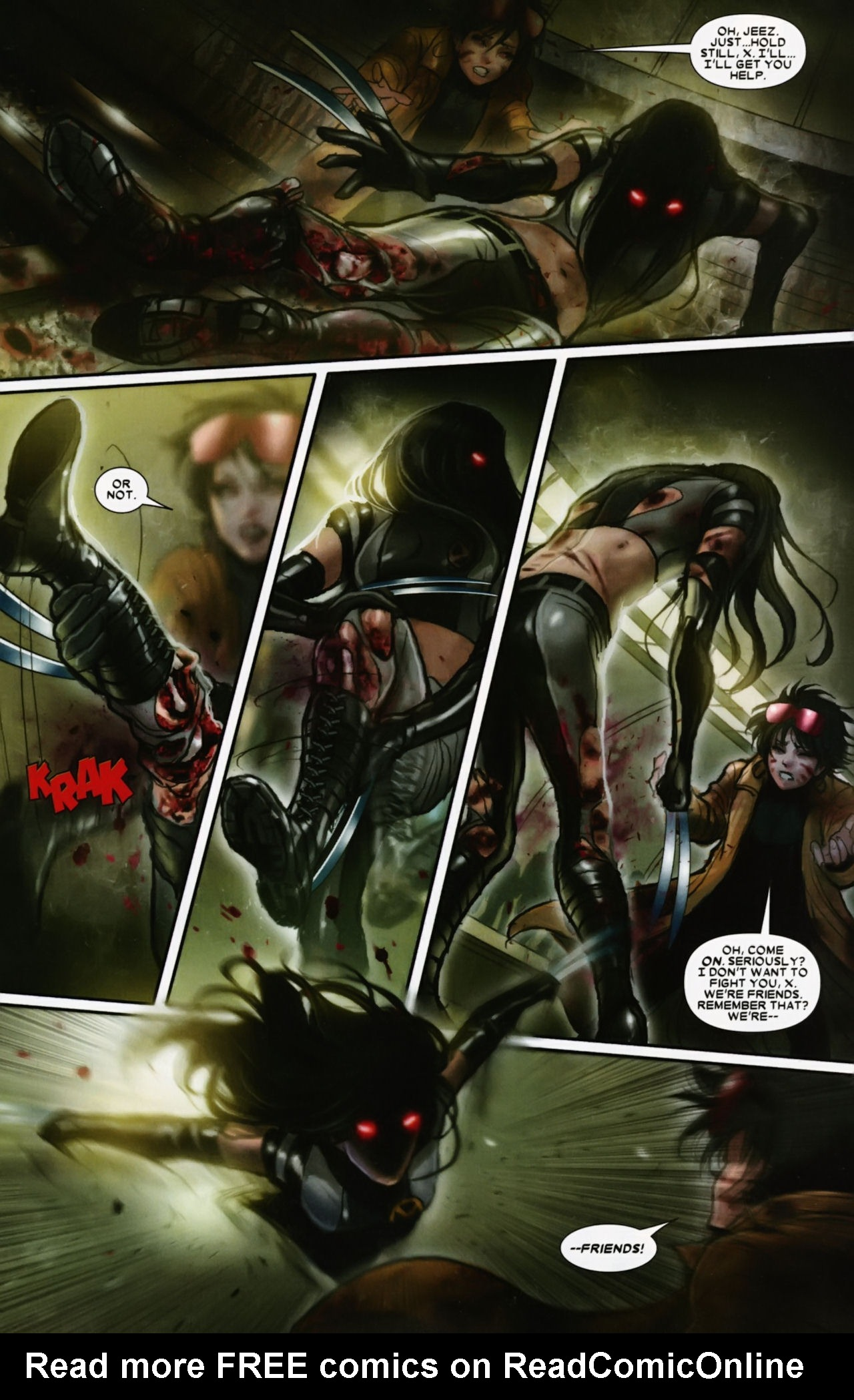 Read online X-23 (2010) comic -  Issue #12 - 4