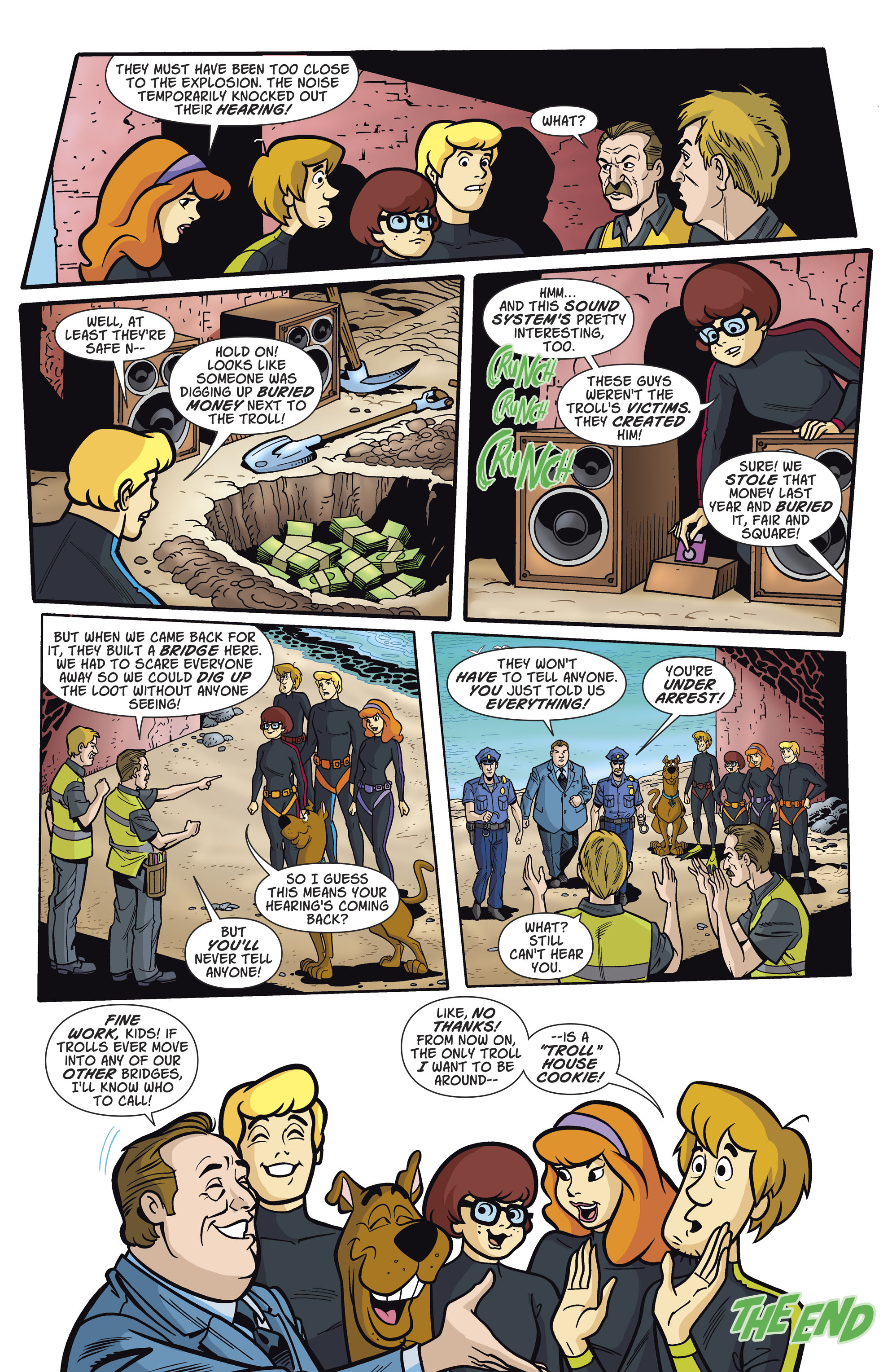 Read online Scooby-Doo: Where Are You? comic -  Issue #81 - 11