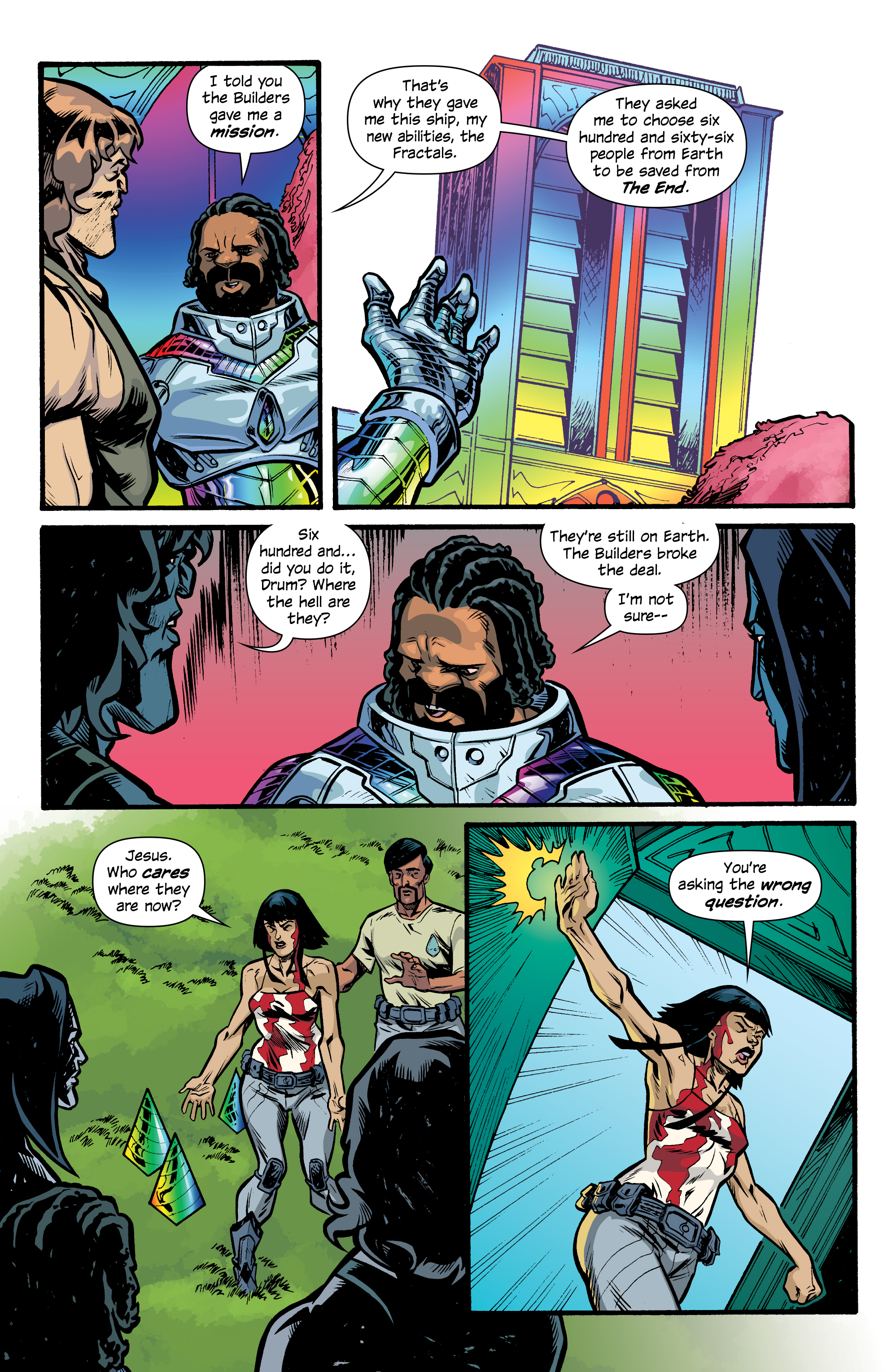Read online Letter 44 comic -  Issue #33 - 9