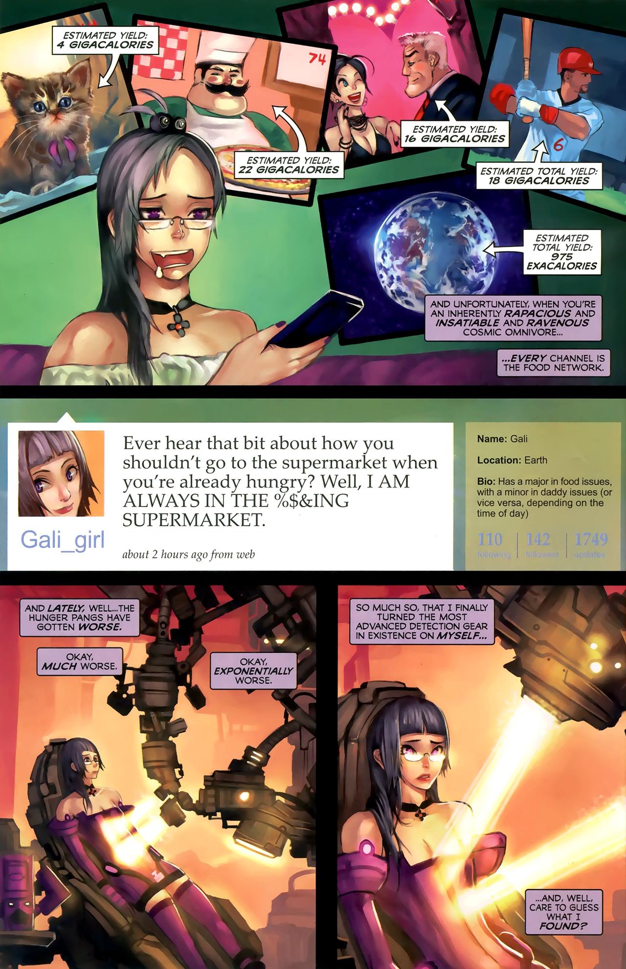 Read online Galacta: Daughter of Galactus comic -  Issue # Full - 9