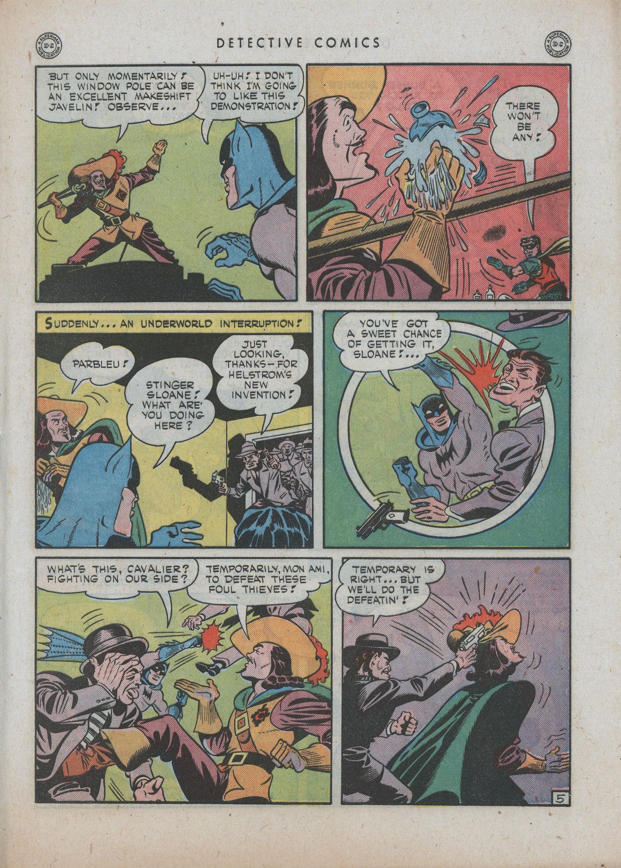 Read online Detective Comics (1937) comic -  Issue #89 - 7
