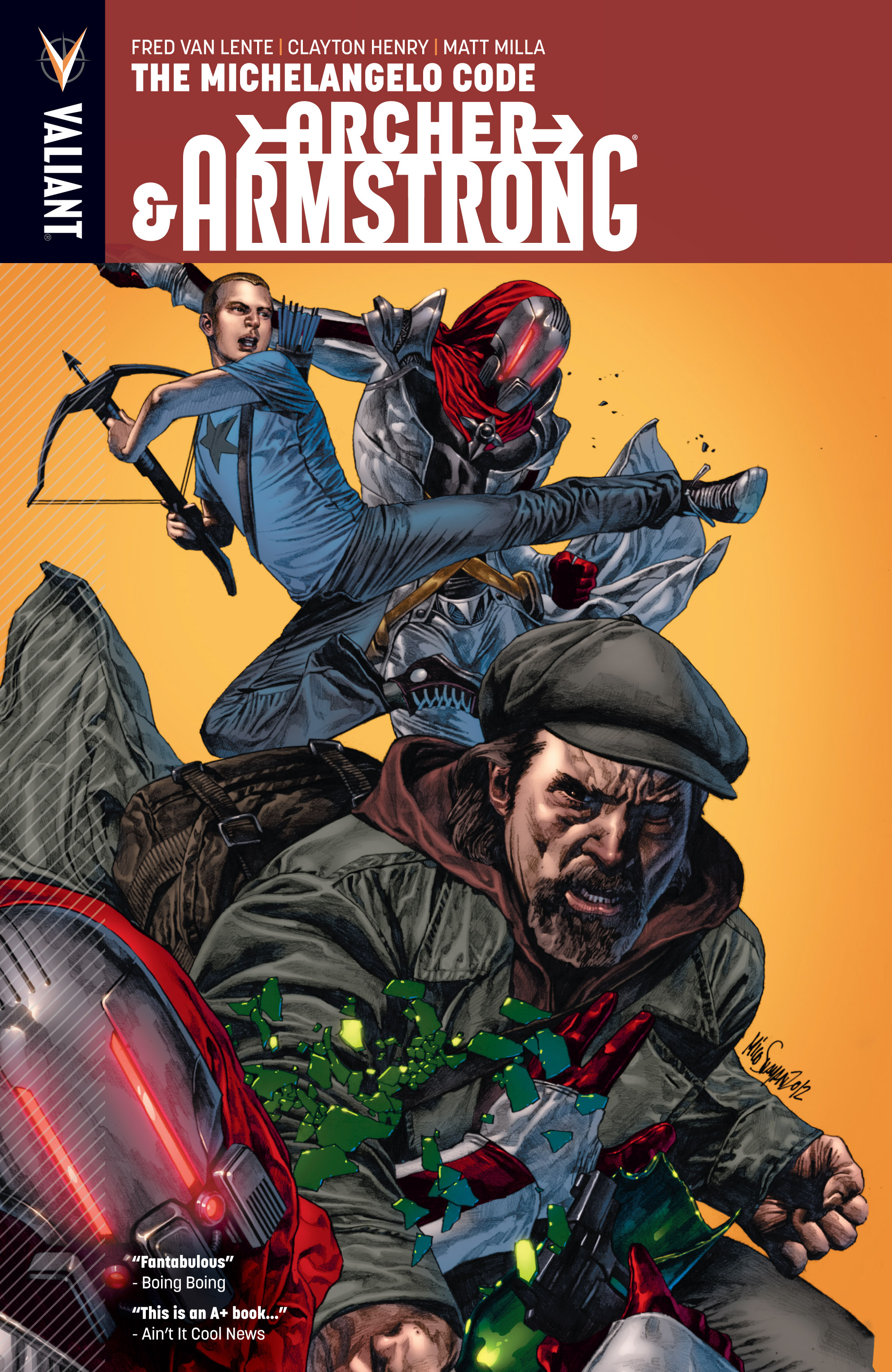 Read online Archer and Armstrong comic -  Issue #Archer and Armstrong _TPB 1 - 1